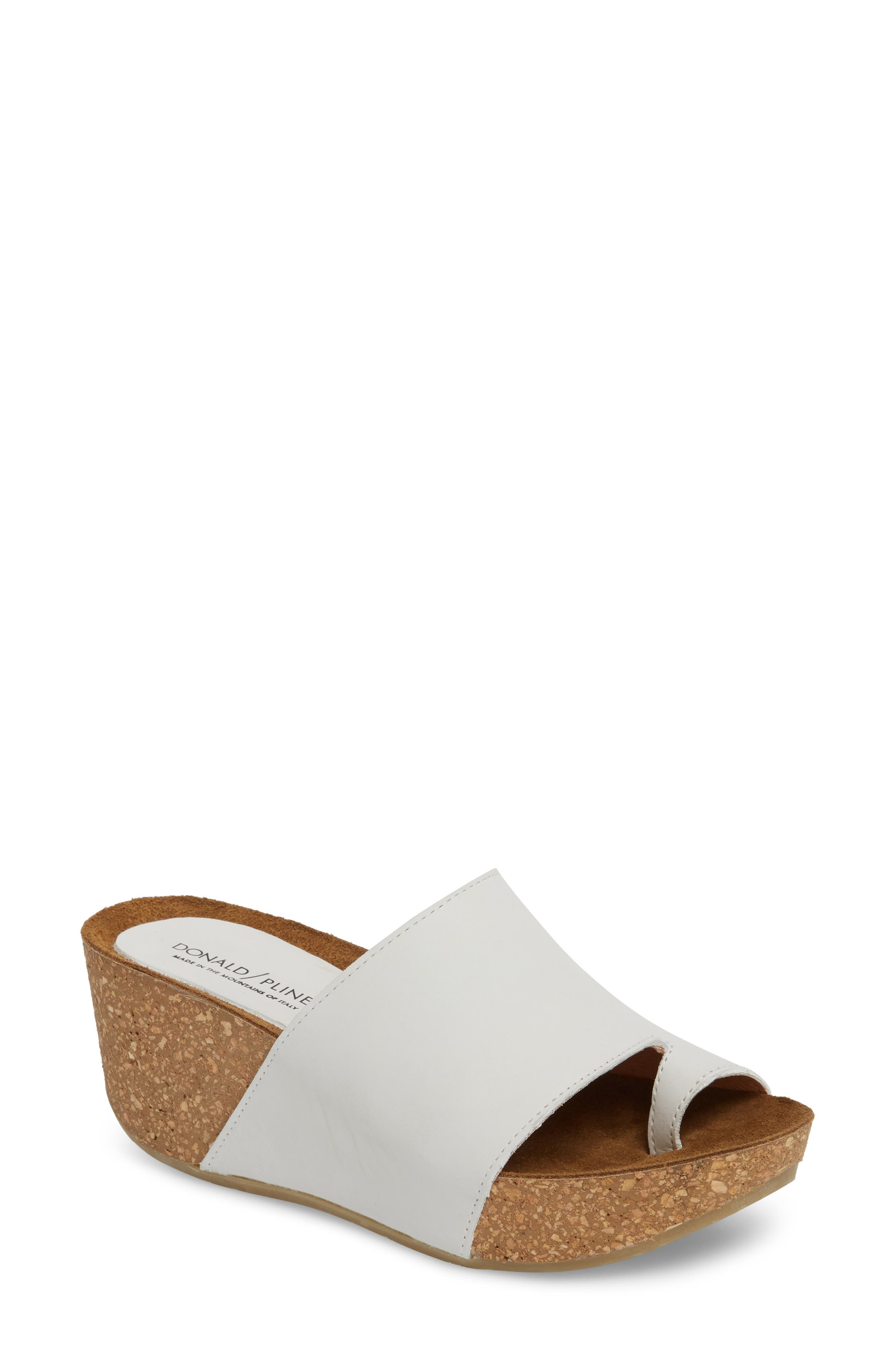 Donald J Pliner Ginie Platform Wedge Sandal,                             Main thumbnail 3, color,