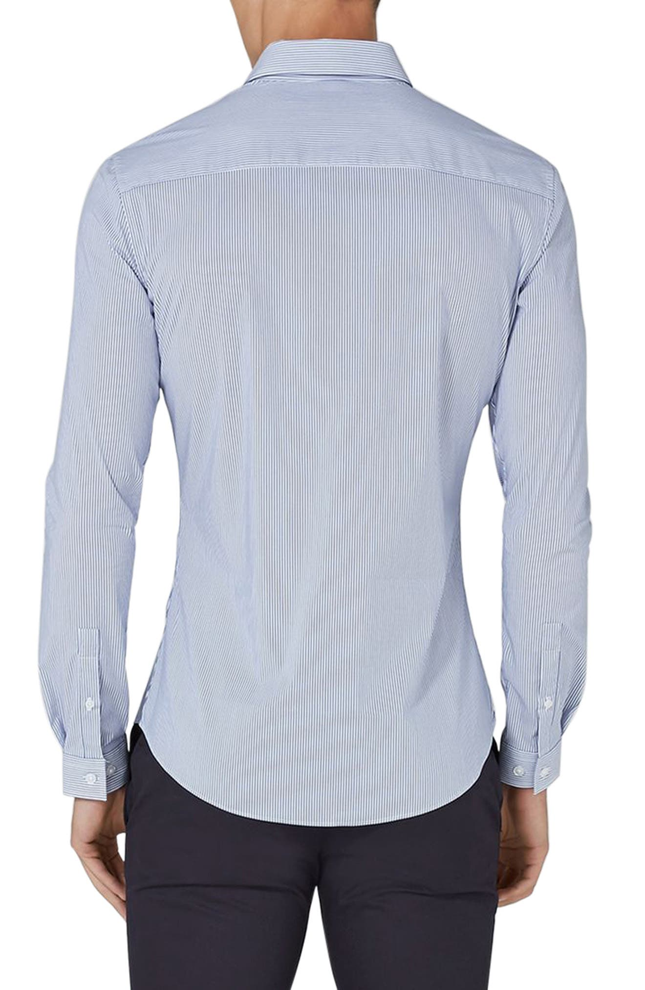 Muscle Fit Smart Shirt,                             Alternate thumbnail 3, color,                             400