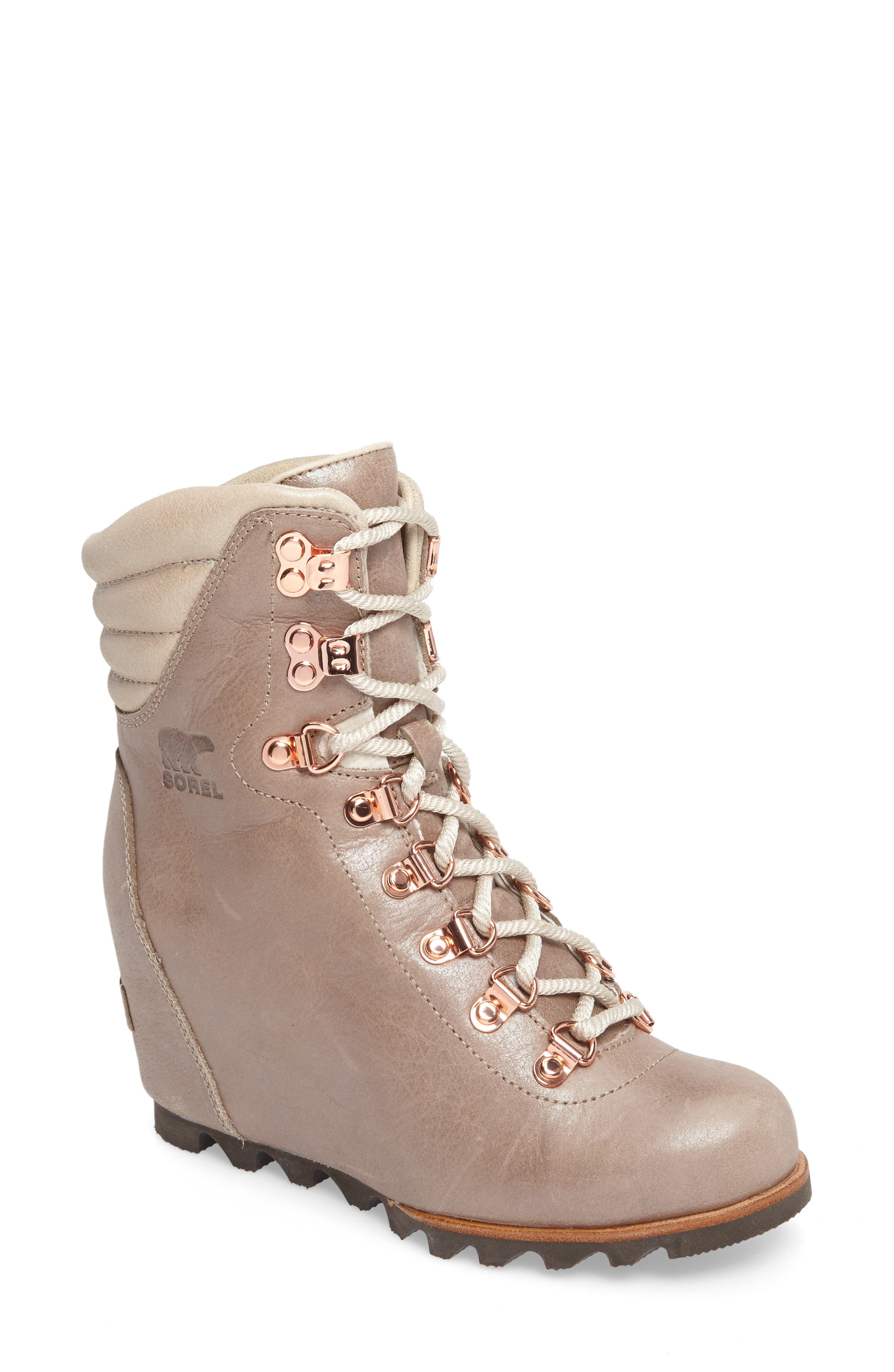 'Conquest' Waterproof Wedge Boot,                             Main thumbnail 5, color,