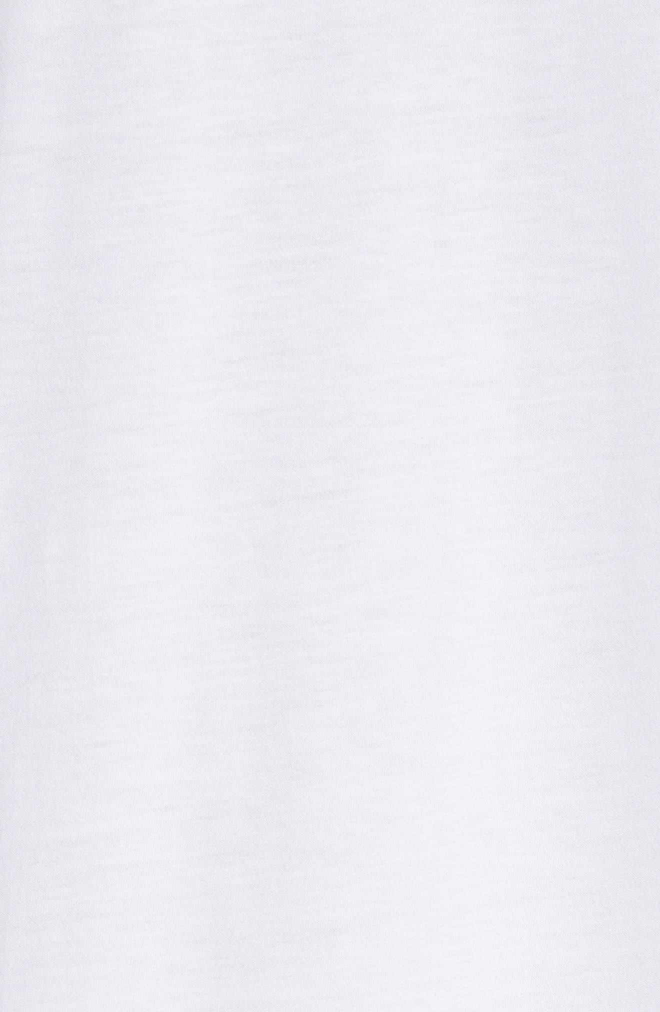 Ministar Logo Cotton Tee,                             Alternate thumbnail 5, color,                             100