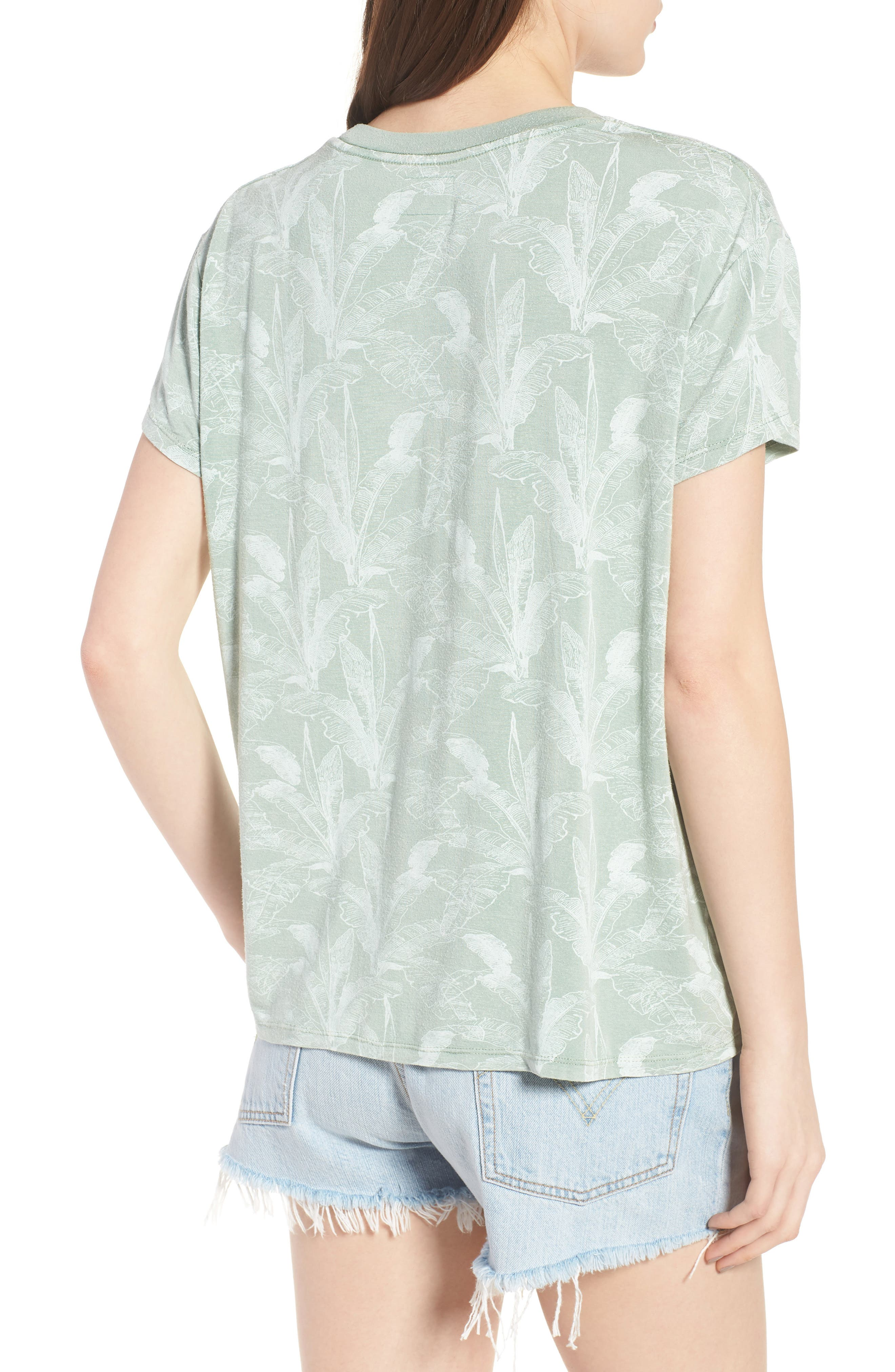 Suspension Print Stretch Modal Tee,                             Alternate thumbnail 2, color,                             382