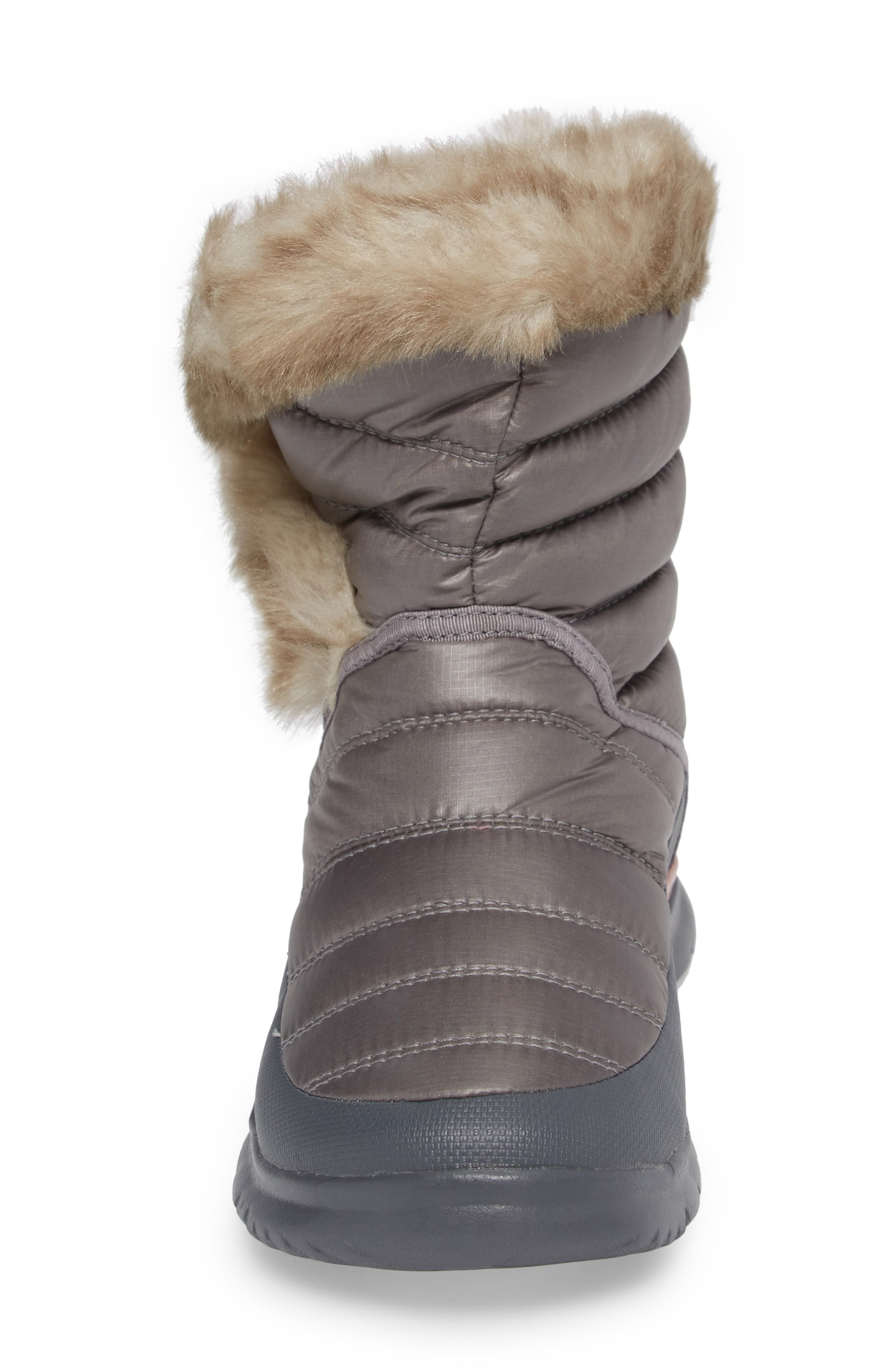 THE NORTH FACE,                             Microbaffle Waterproof ThermoBall<sup>™</sup> Insulated Winter Boot,                             Alternate thumbnail 4, color,                             021