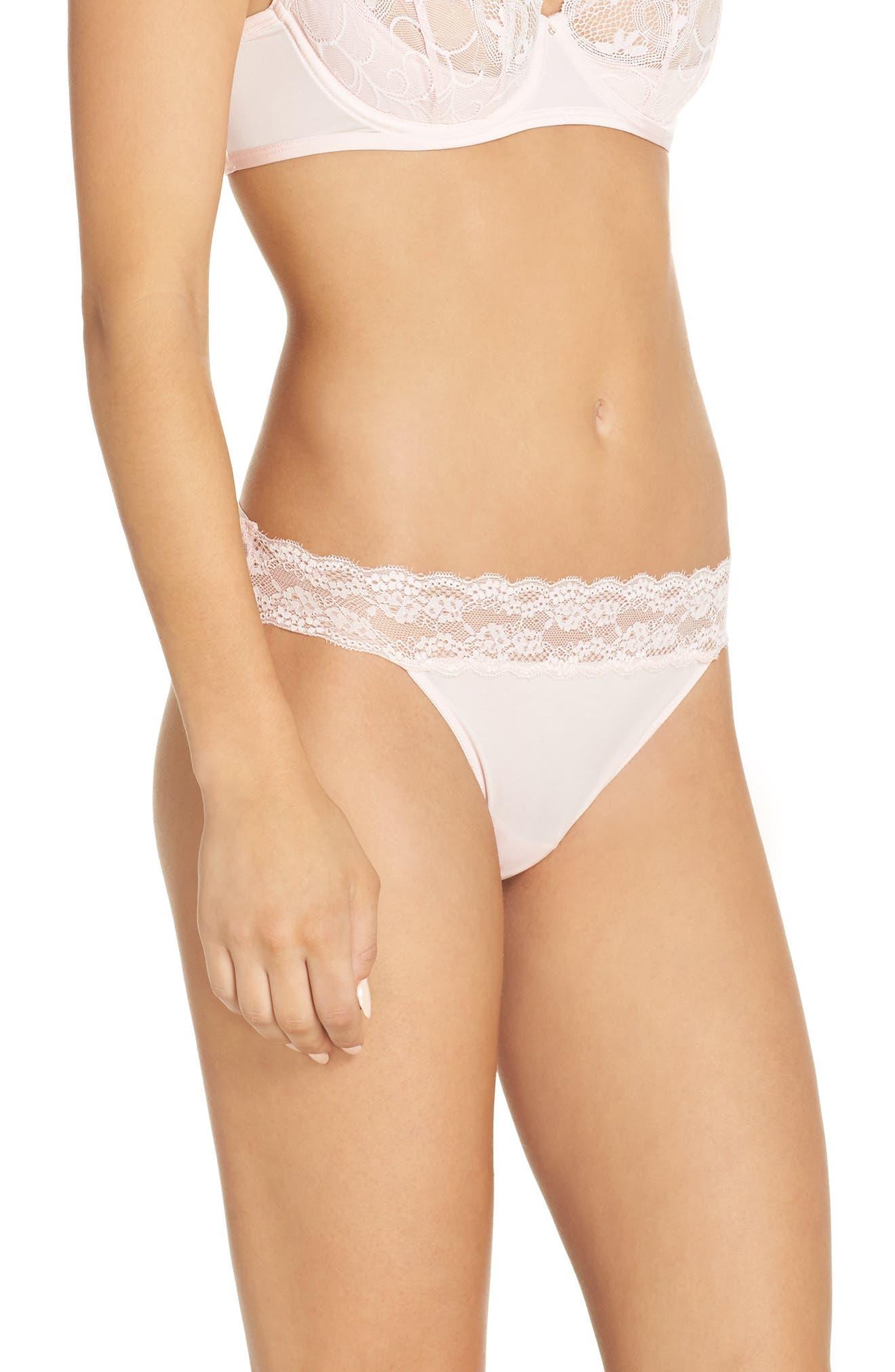 Lovely Lace Open Back Bikini,                             Alternate thumbnail 3, color,                             684