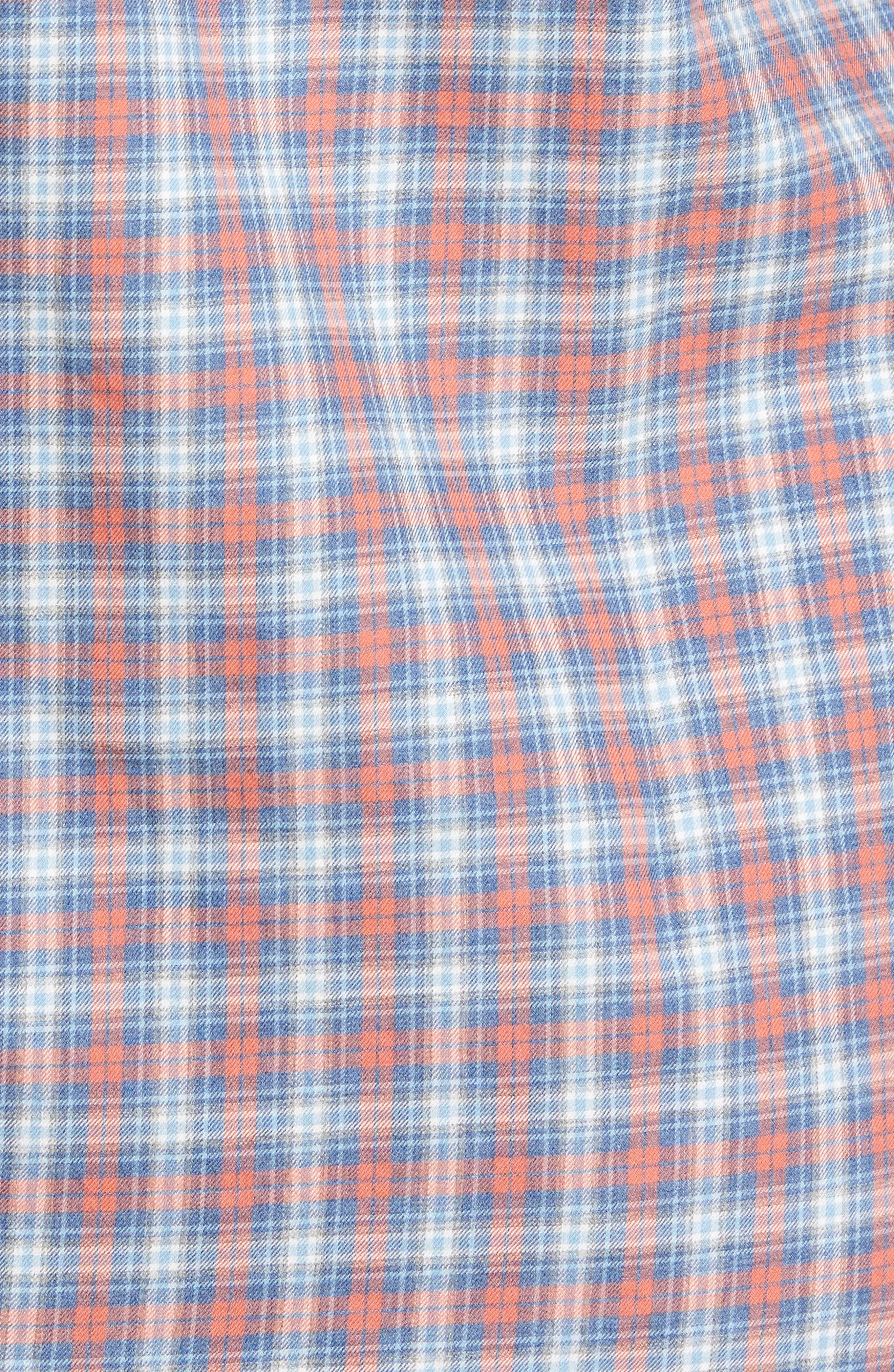 Check Sport Shirt,                             Alternate thumbnail 5, color,                             814