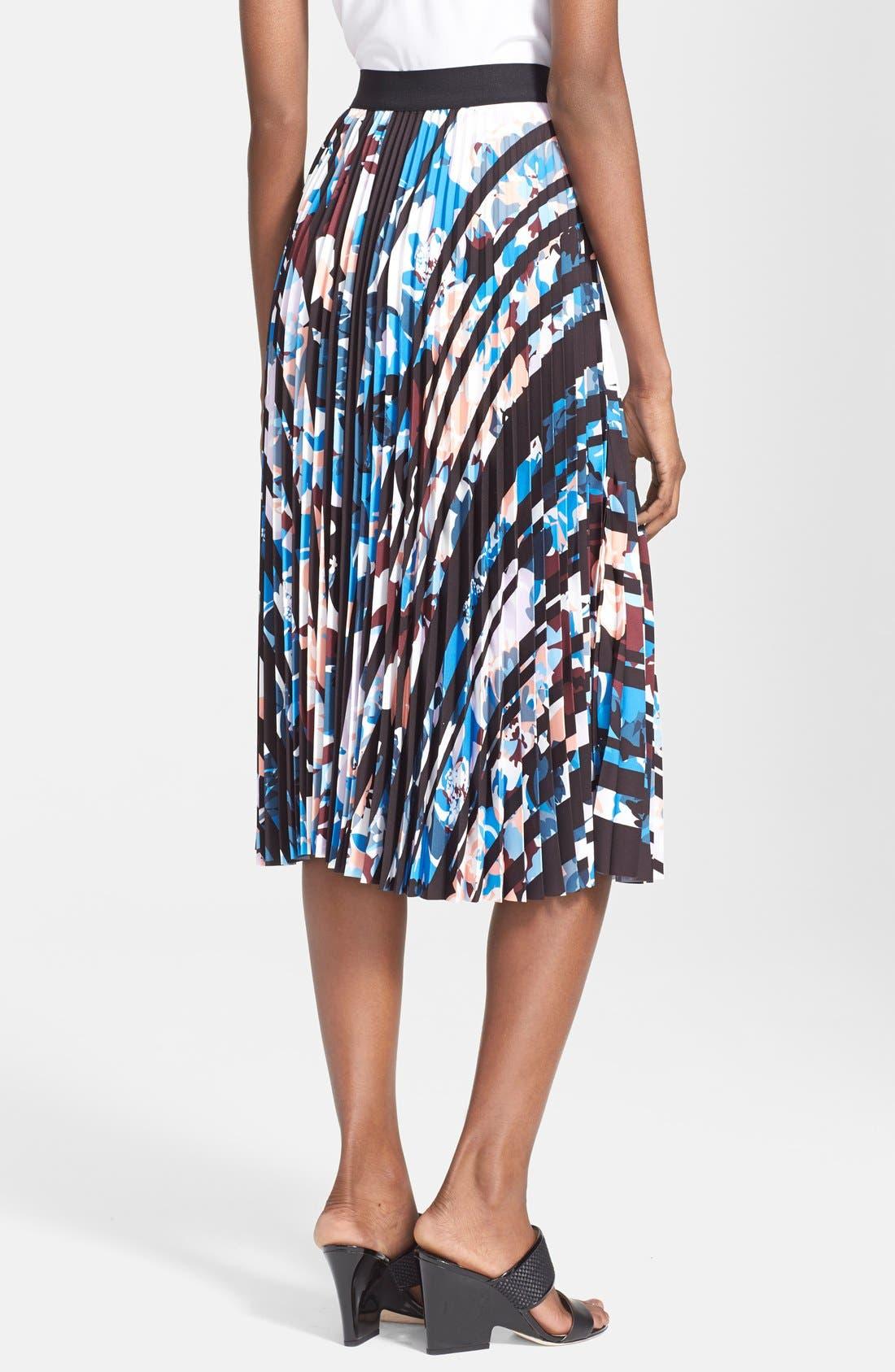 'Caident' Print Skirt,                             Alternate thumbnail 2, color,