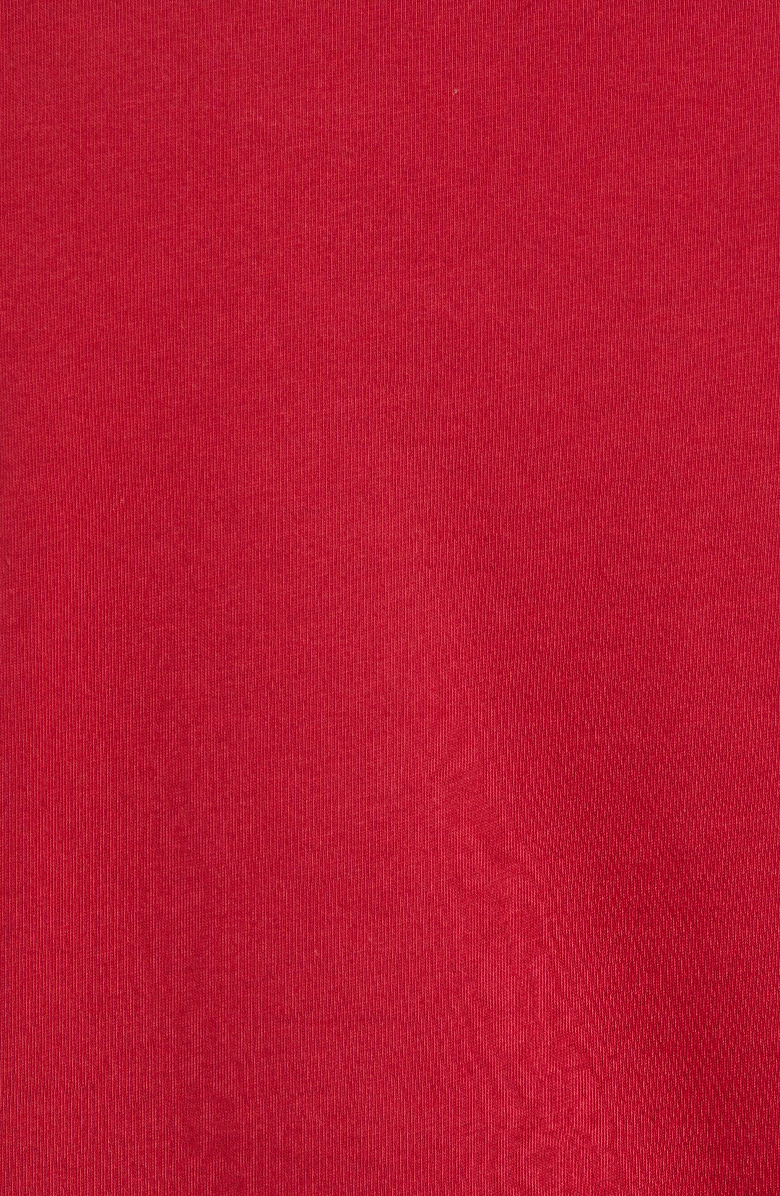 Year of the Dog T-Shirt,                             Alternate thumbnail 5, color,                             RED CRUSH