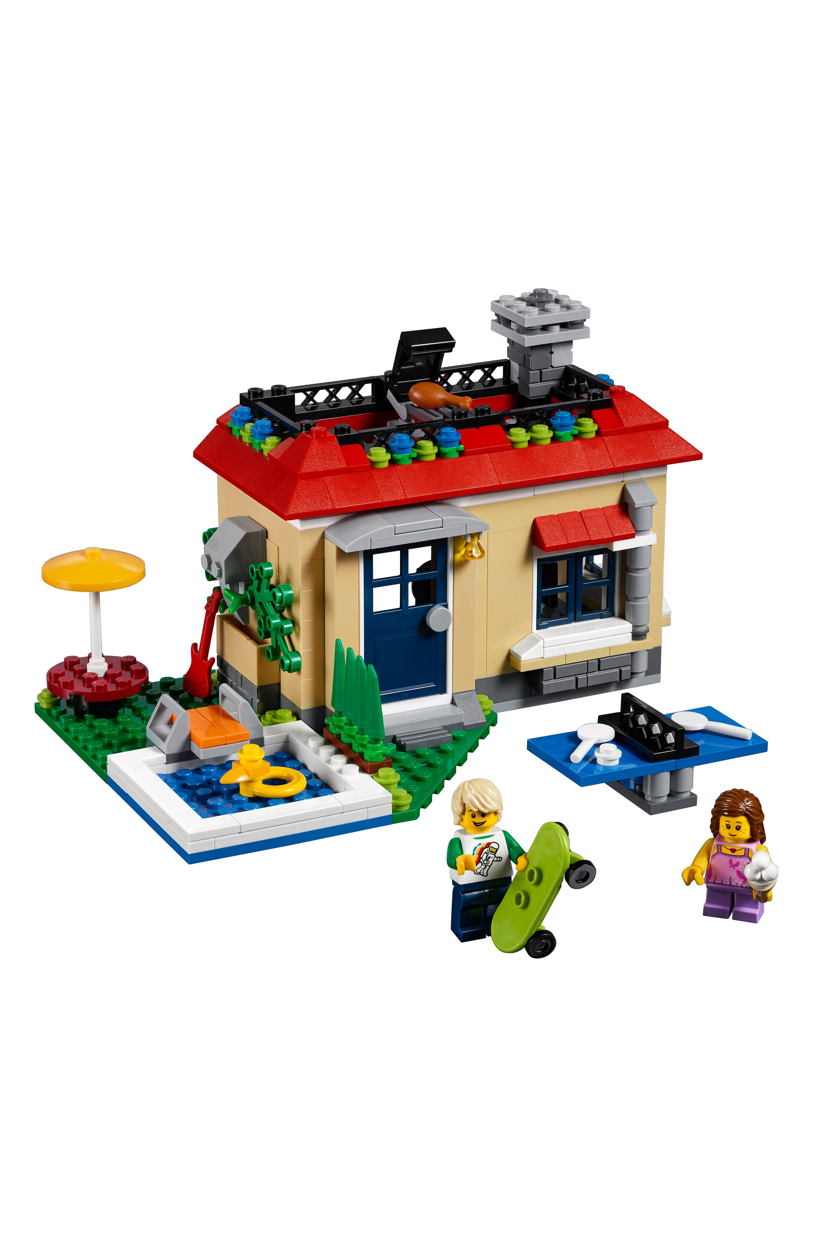 Creator 3-in-1 Modular Poolside Holiday Play Set - 31067,                             Alternate thumbnail 2, color,                             250