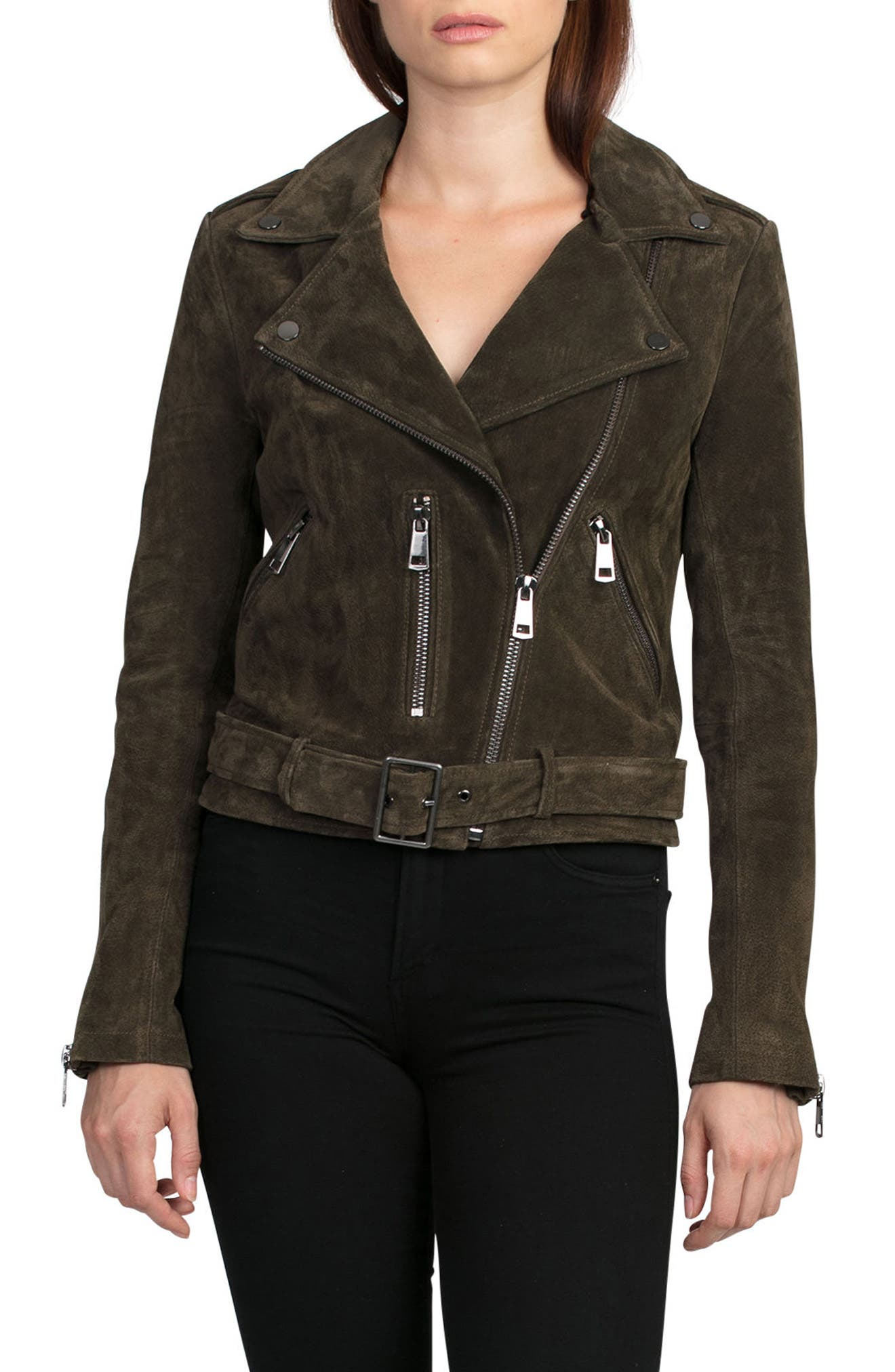 NYC  Suede Jacket,                             Alternate thumbnail 26, color,