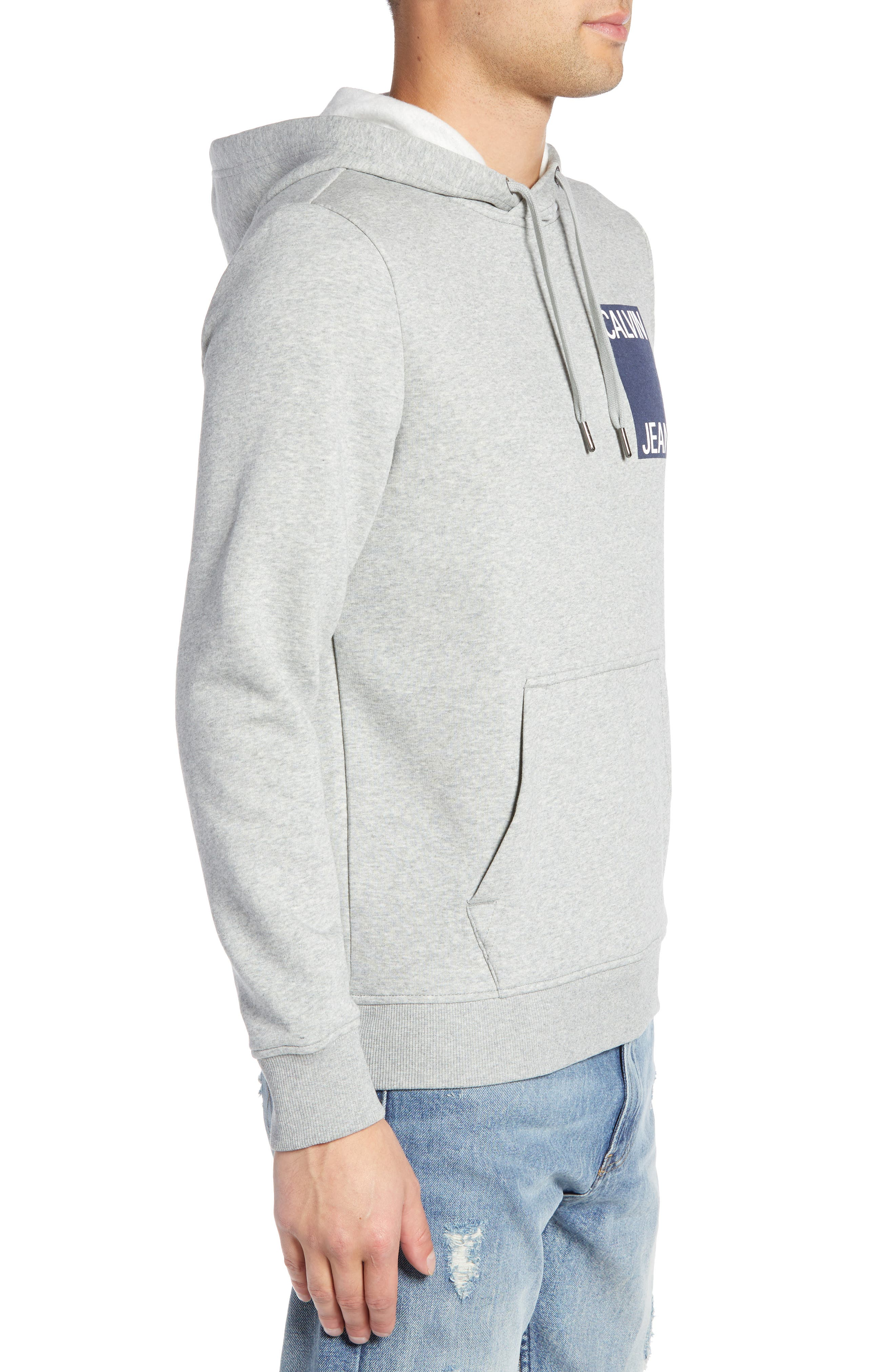 Stacked Logo Hoodie,                             Alternate thumbnail 3, color,                             034