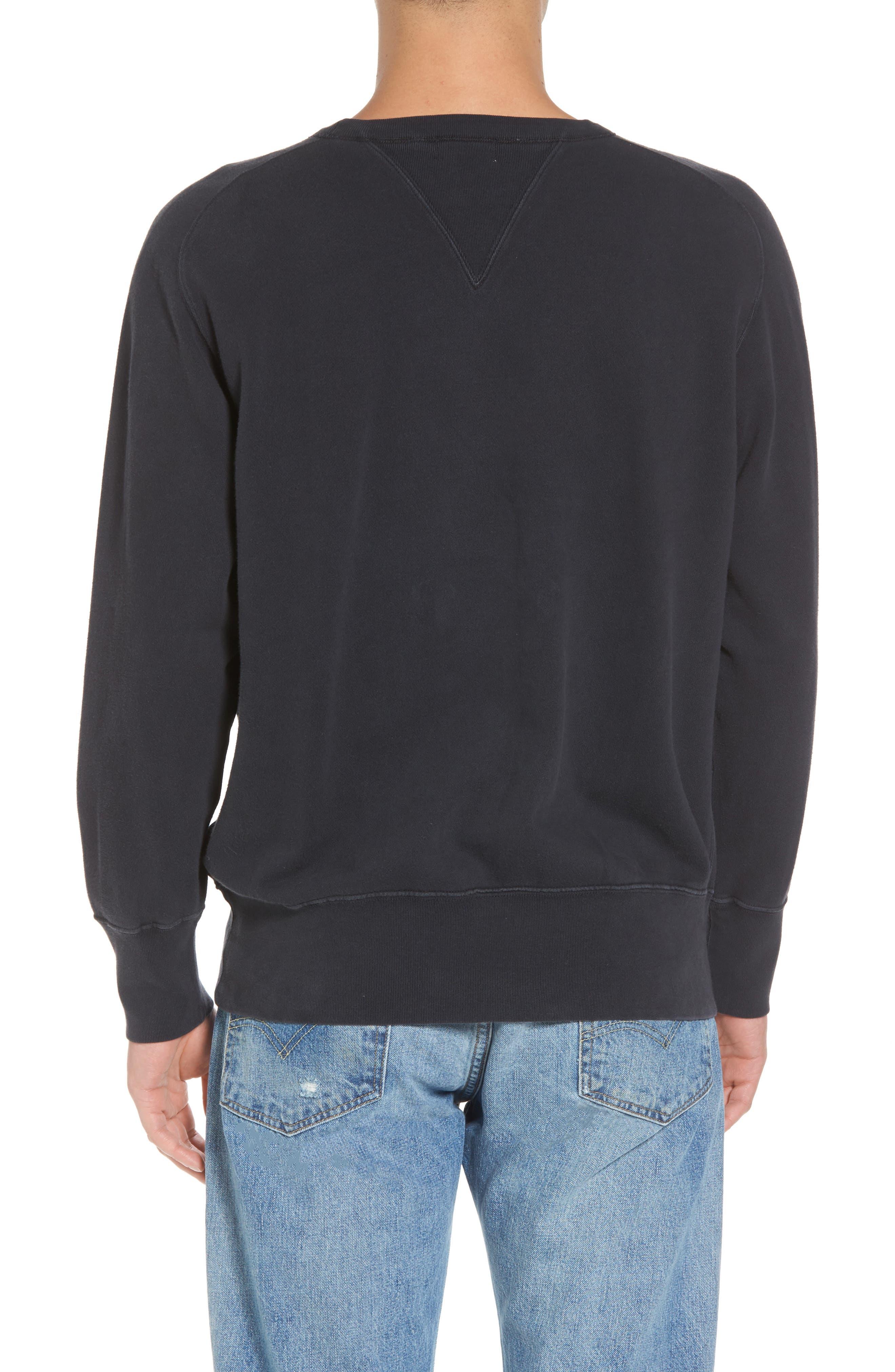 Bay Meadows Sweatshirt,                             Alternate thumbnail 2, color,                             BLACK