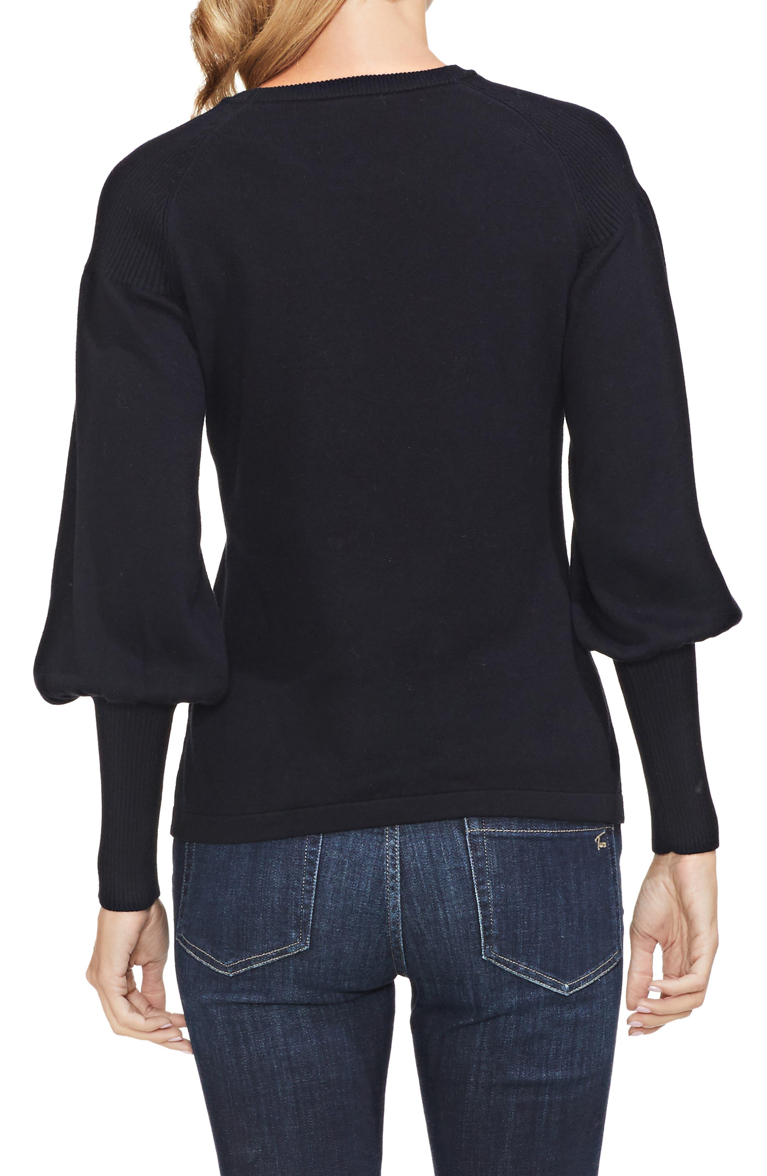 Blouson Sleeve Sweater,                             Alternate thumbnail 2, color,                             006