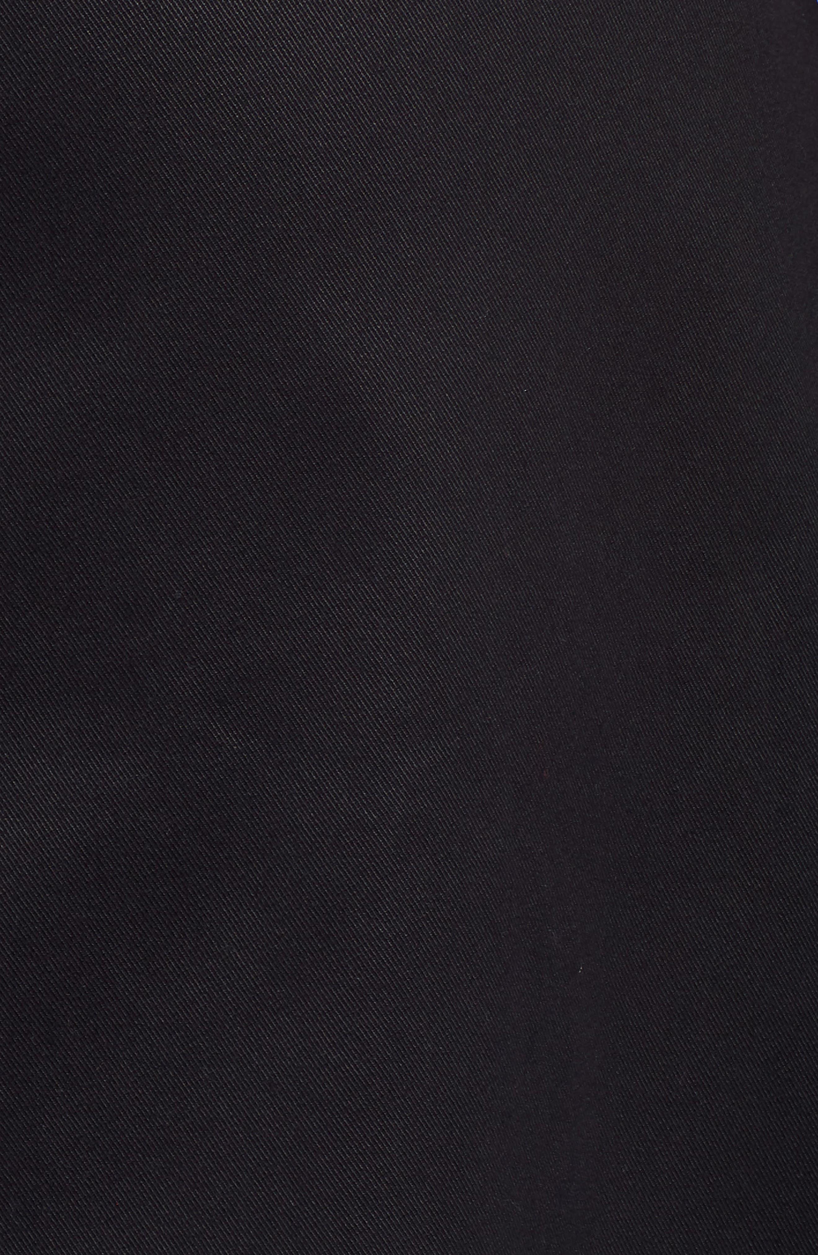 A-Line Midi Skirt,                             Alternate thumbnail 5, color,                             001