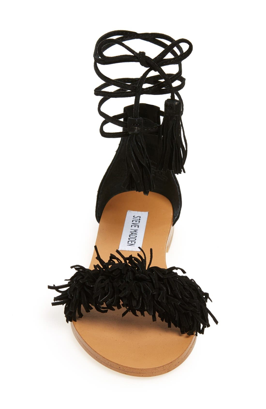 'Sweetyy' Lace-Up Sandal,                             Alternate thumbnail 3, color,                             006