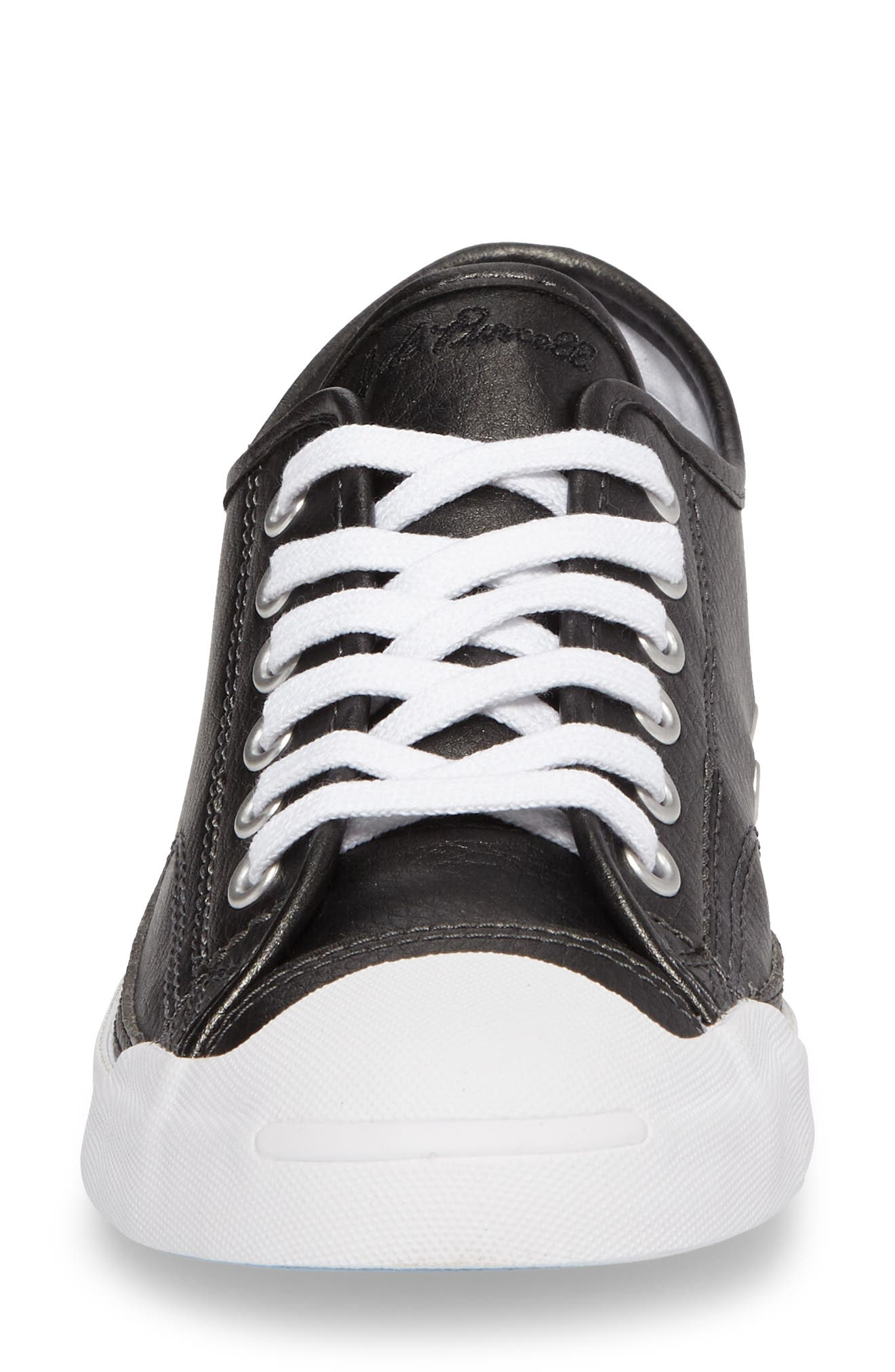 Jack Purcell Low Top Sneaker,                             Alternate thumbnail 4, color,                             001