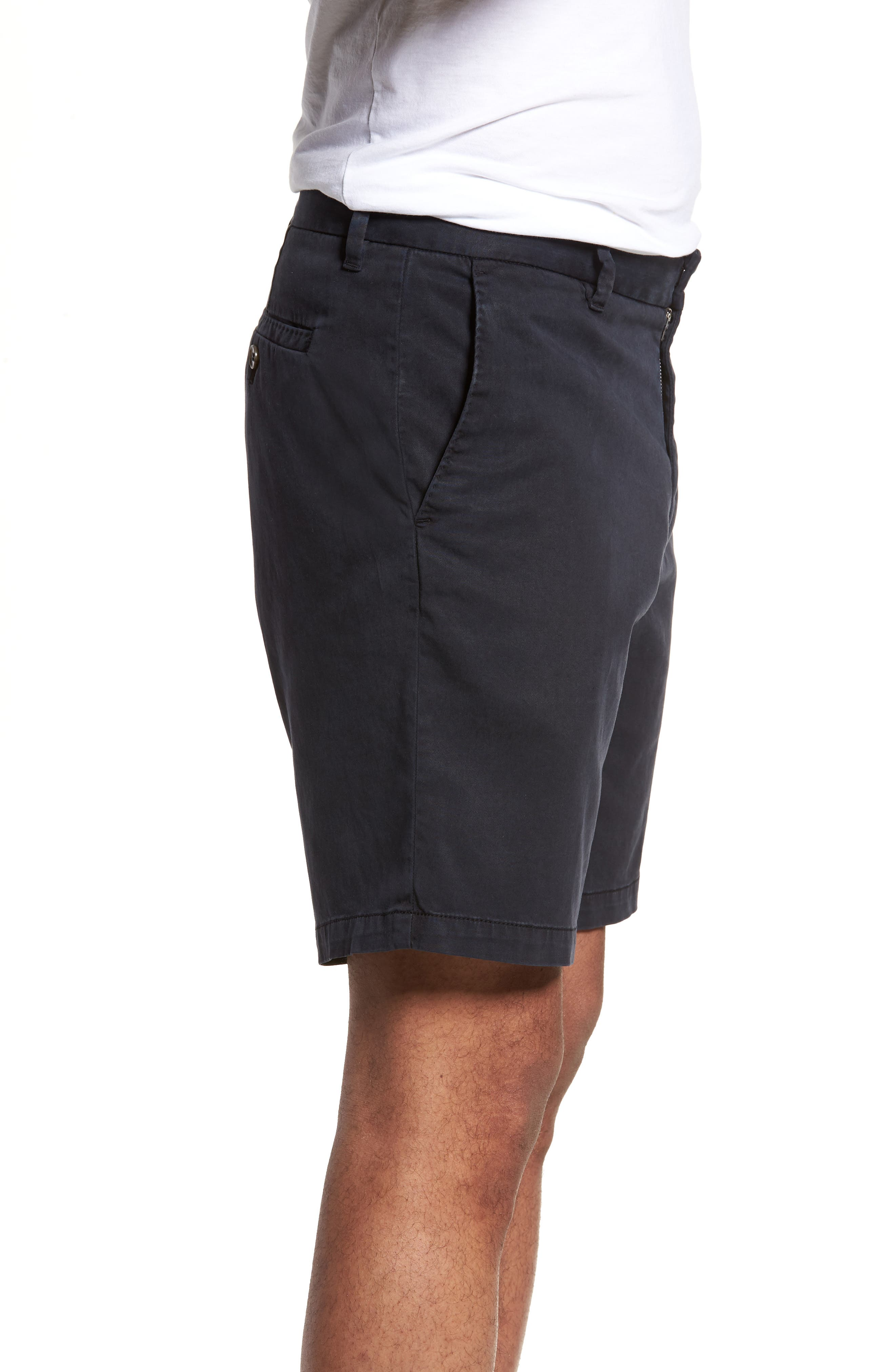 Catalpa Chino Shorts,                             Alternate thumbnail 3, color,                             NAVY