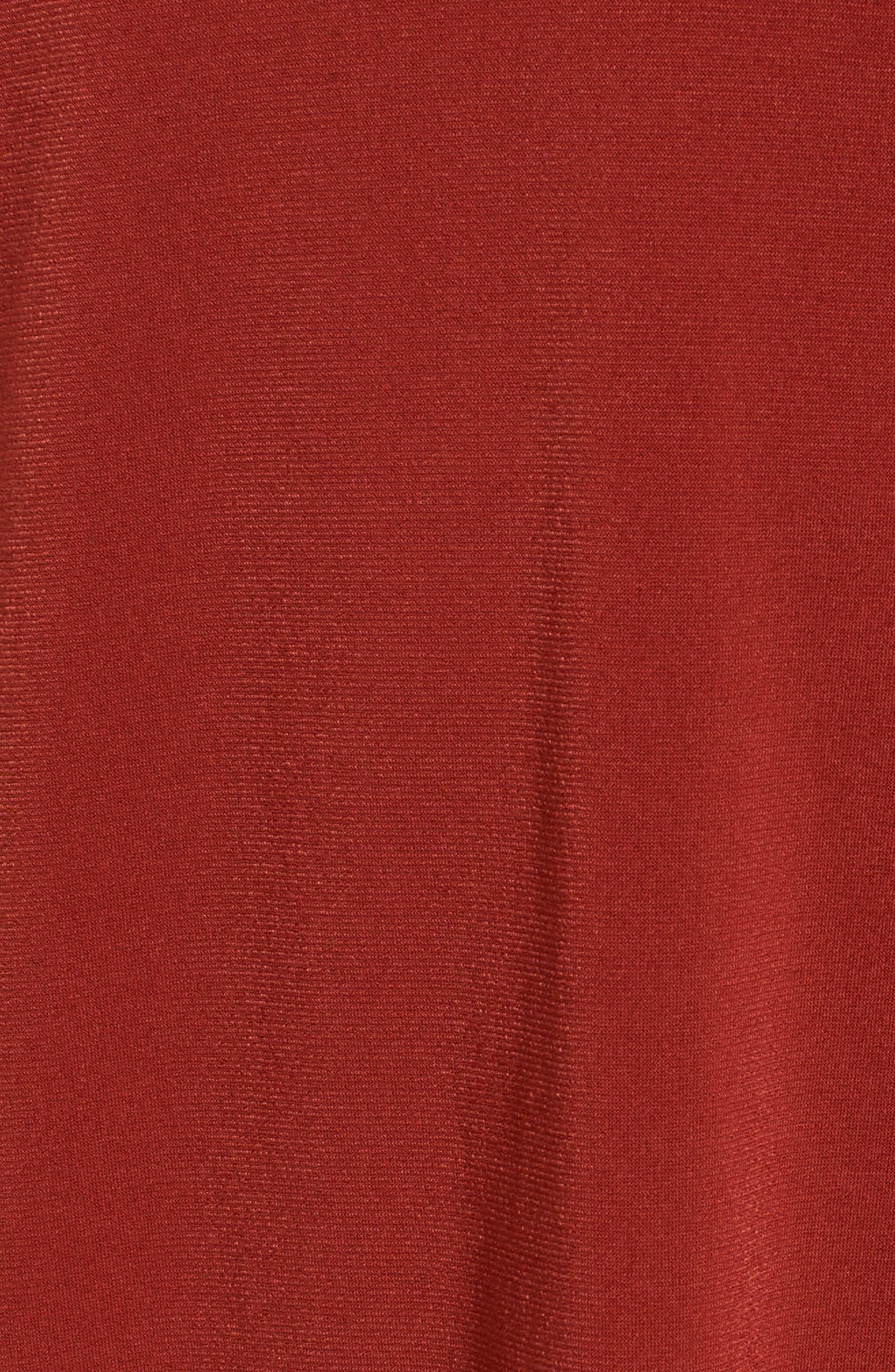 V-Neck A-Line Dress,                             Alternate thumbnail 15, color,