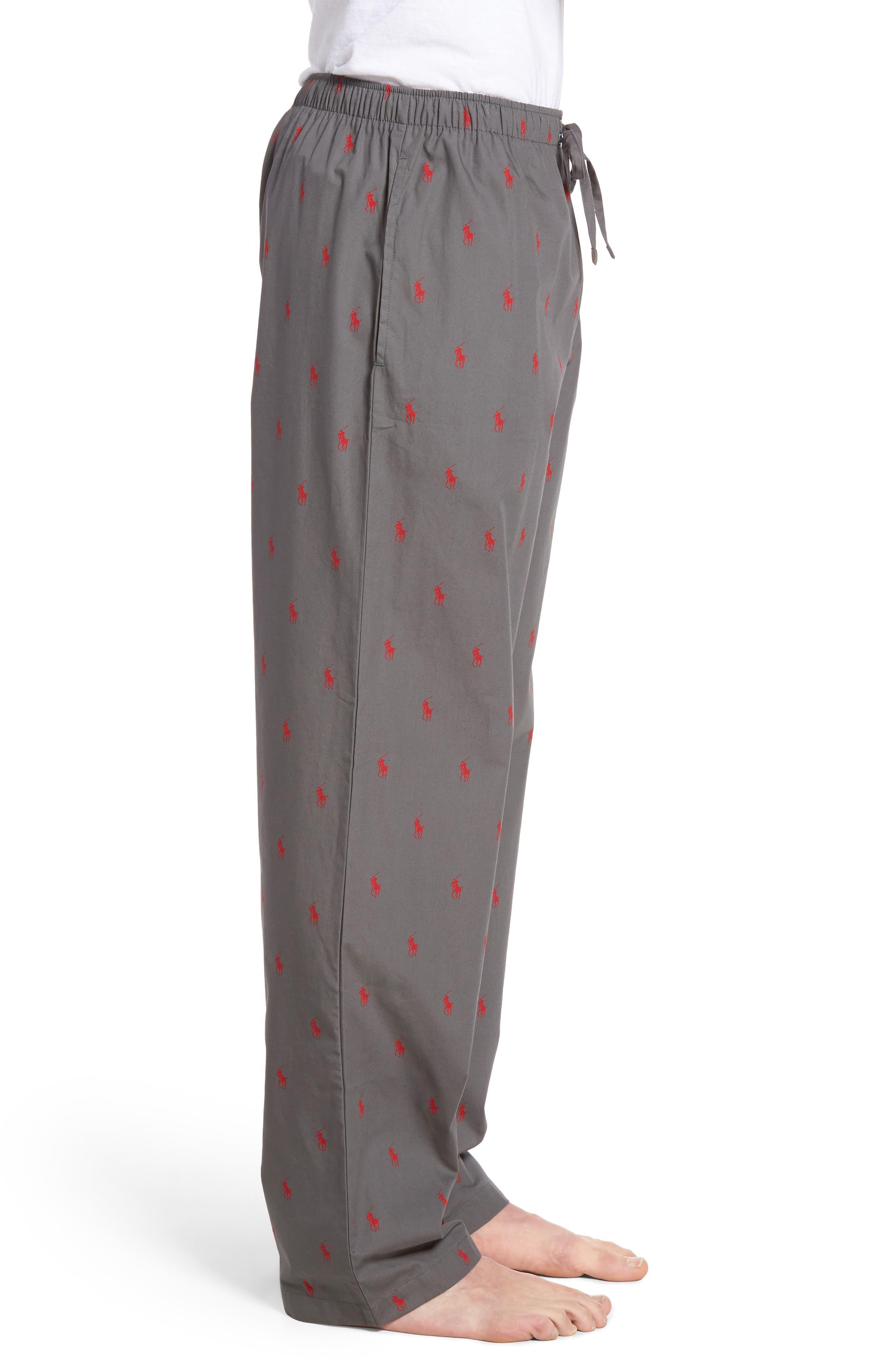 Cotton Lounge Pants,                             Alternate thumbnail 32, color,