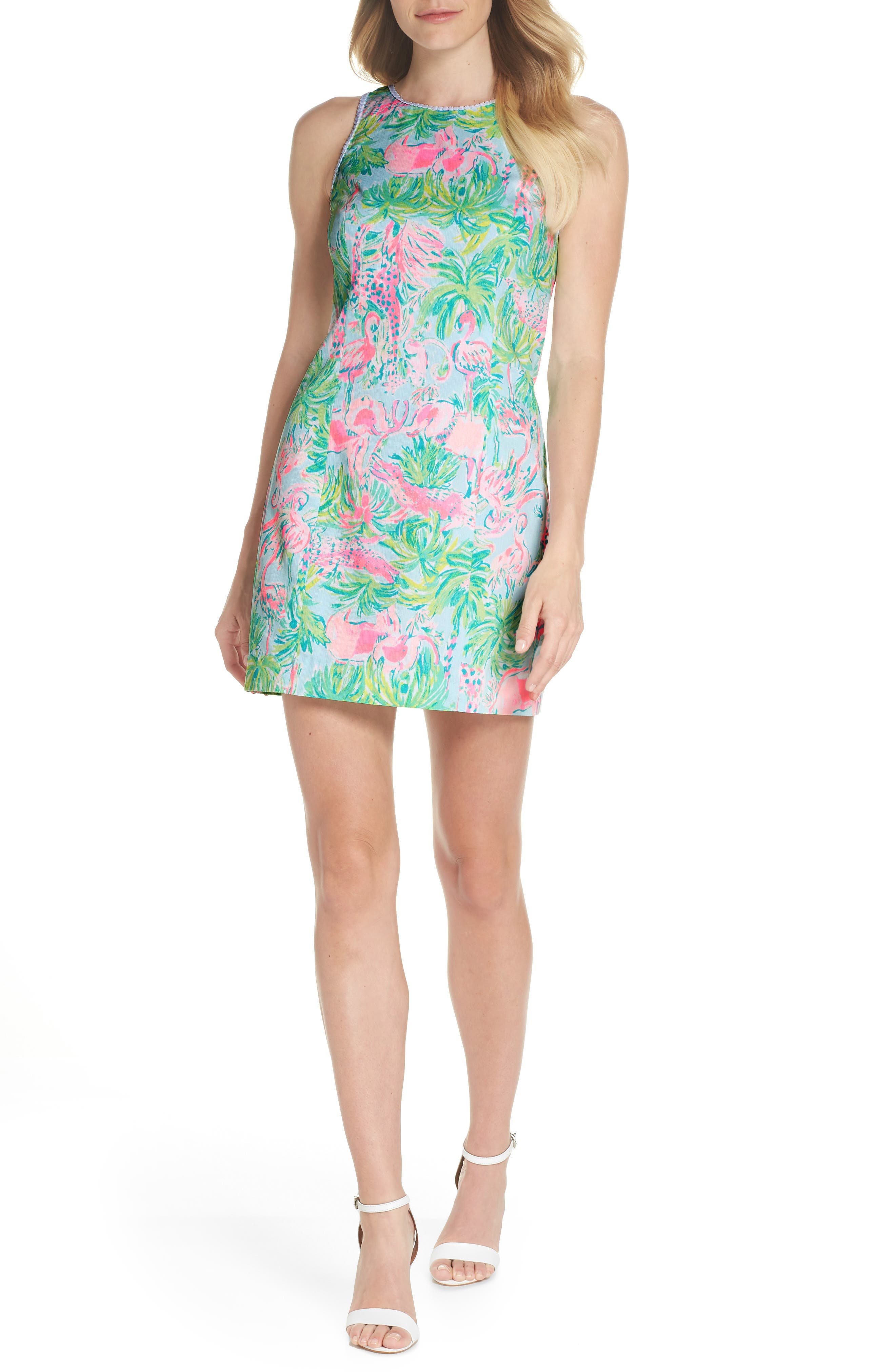 Mila Cotton Minidress,                         Main,                         color, 400