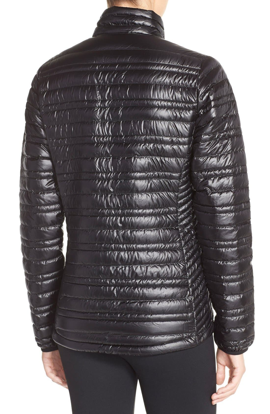 PATAGONIA,                             'Ultralight' Down Puffer Jacket,                             Alternate thumbnail 2, color,                             BLACK