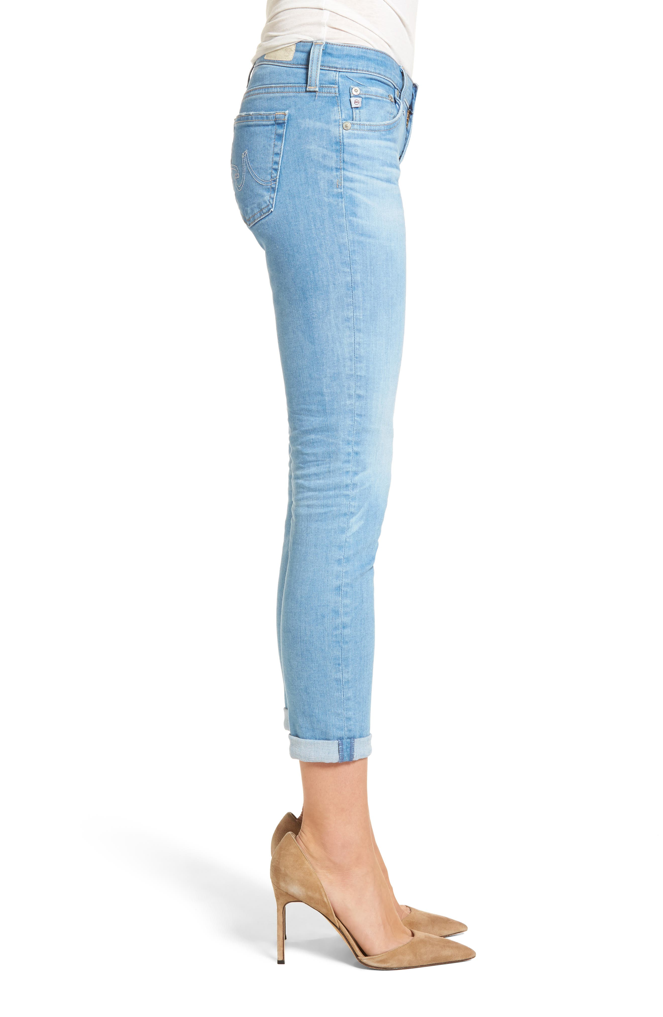 The Stilt Crop Skinny Jeans,                             Alternate thumbnail 3, color,                             461