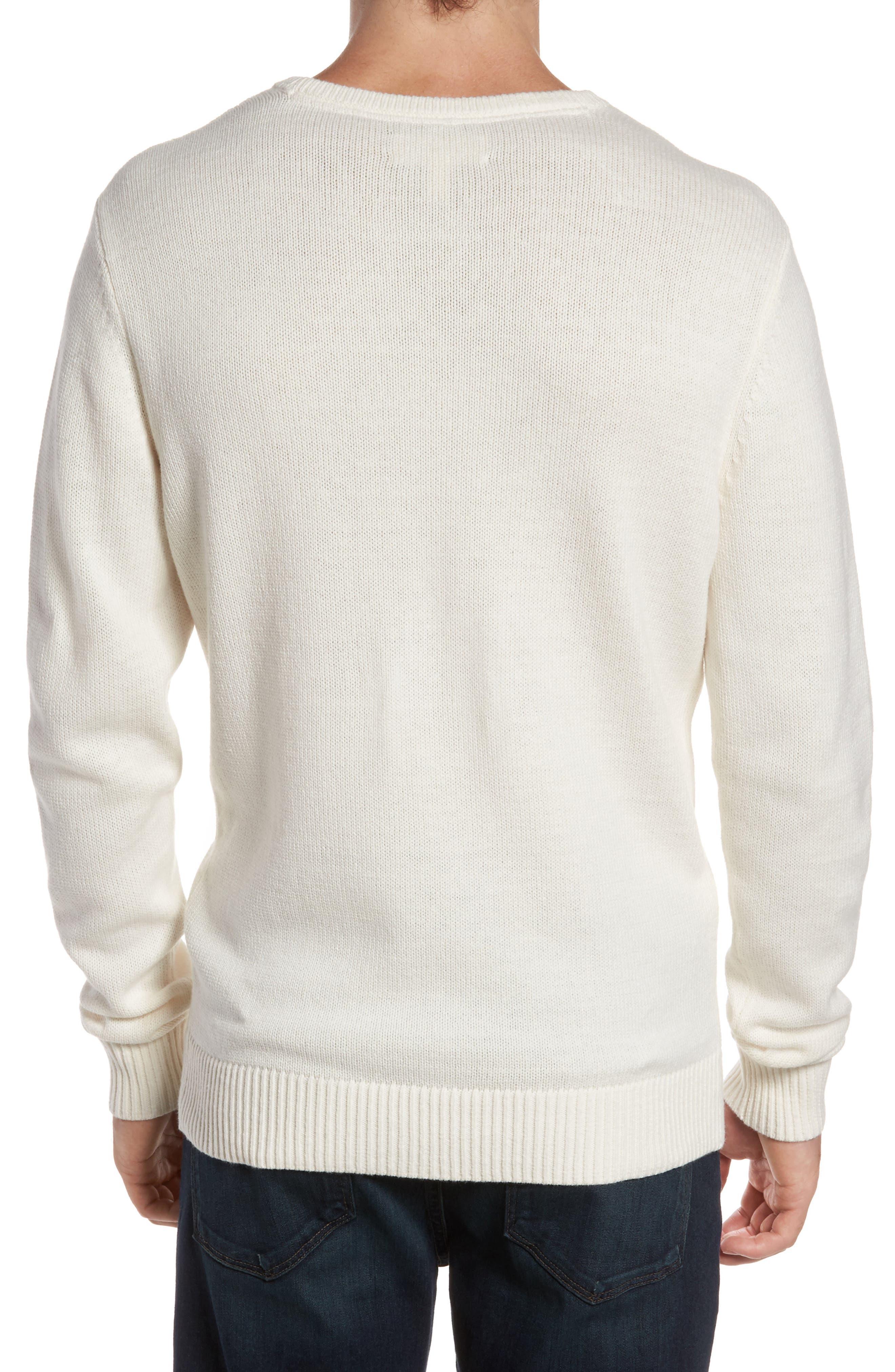 Tonal Motif Sweater,                             Alternate thumbnail 4, color,