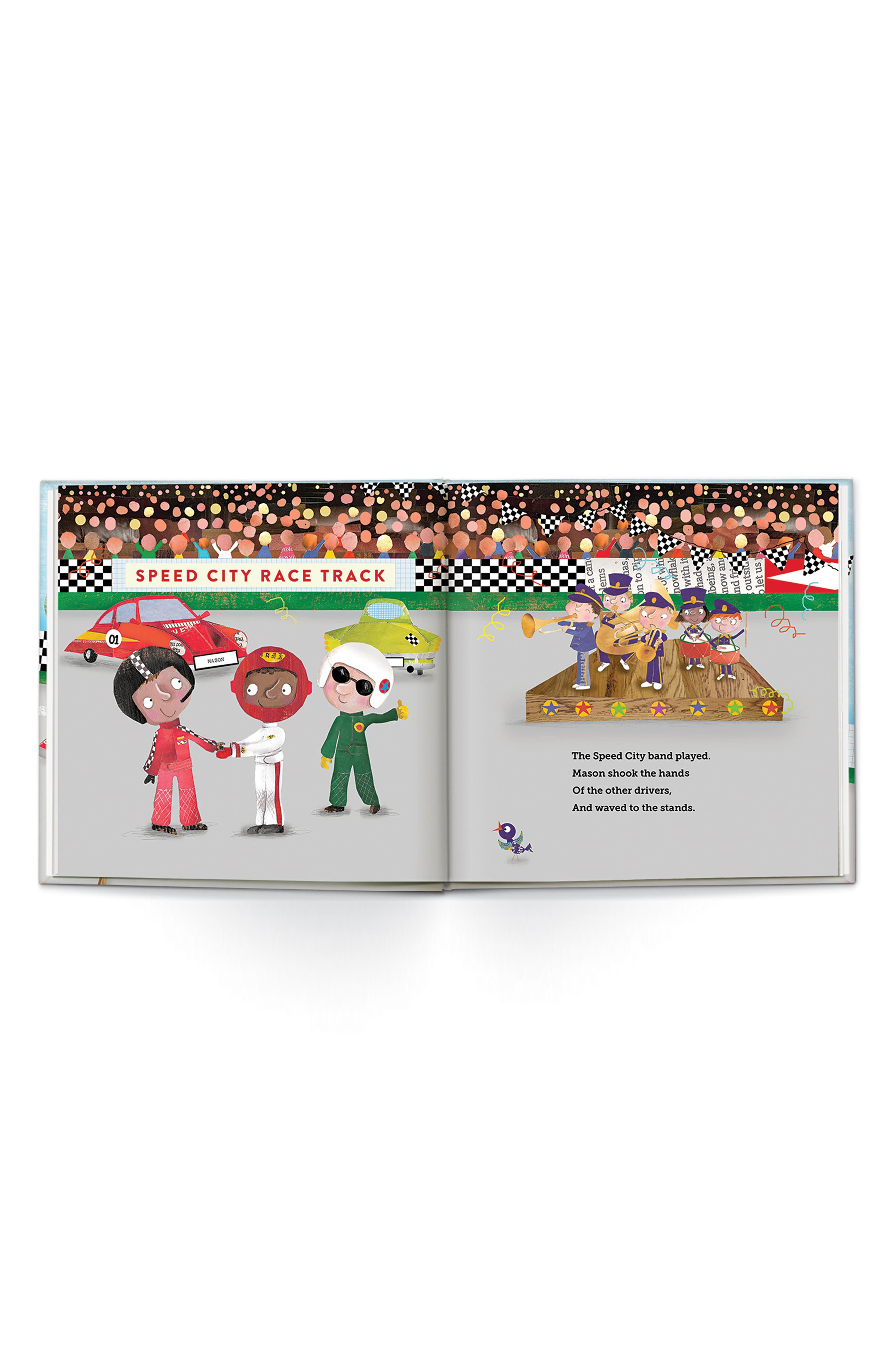 'Speedster' Personalized Book,                             Alternate thumbnail 5, color,                             200