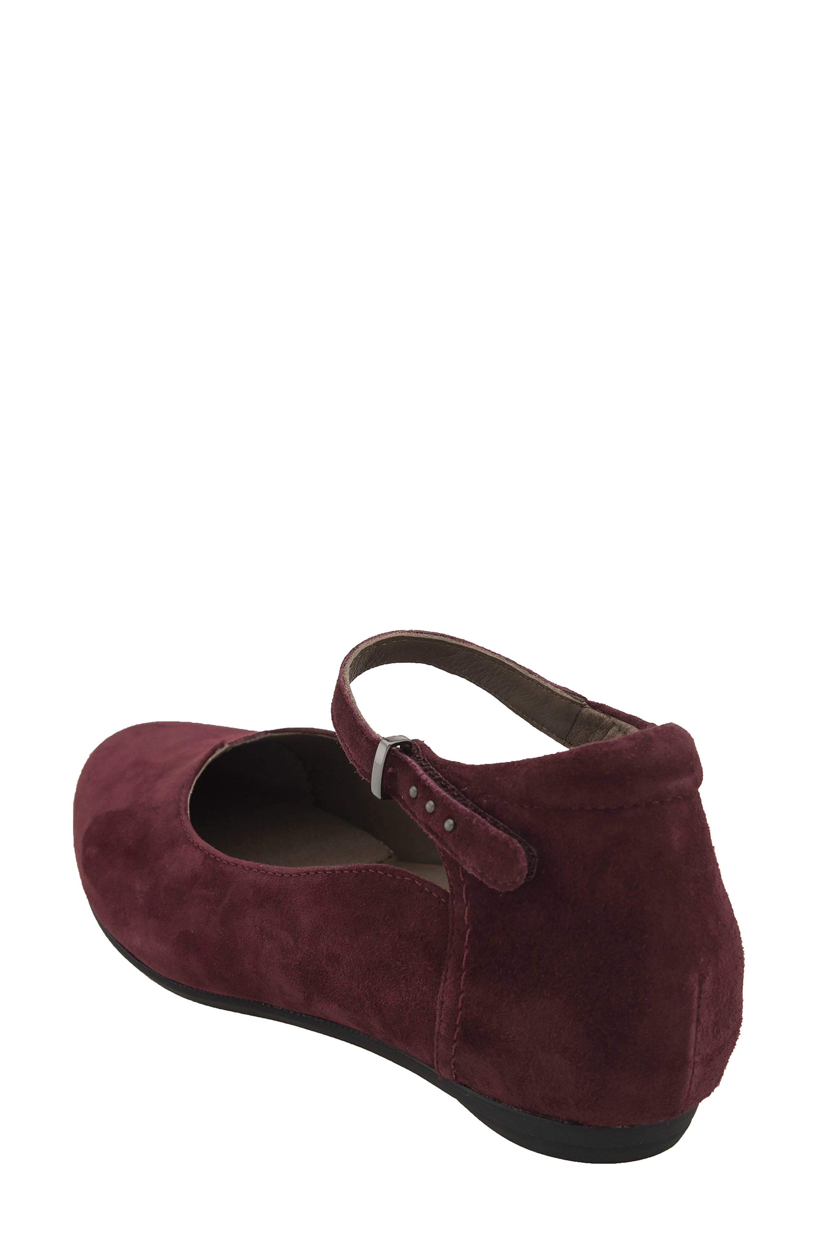 Emery Ankle Strap Flat,                             Alternate thumbnail 6, color,