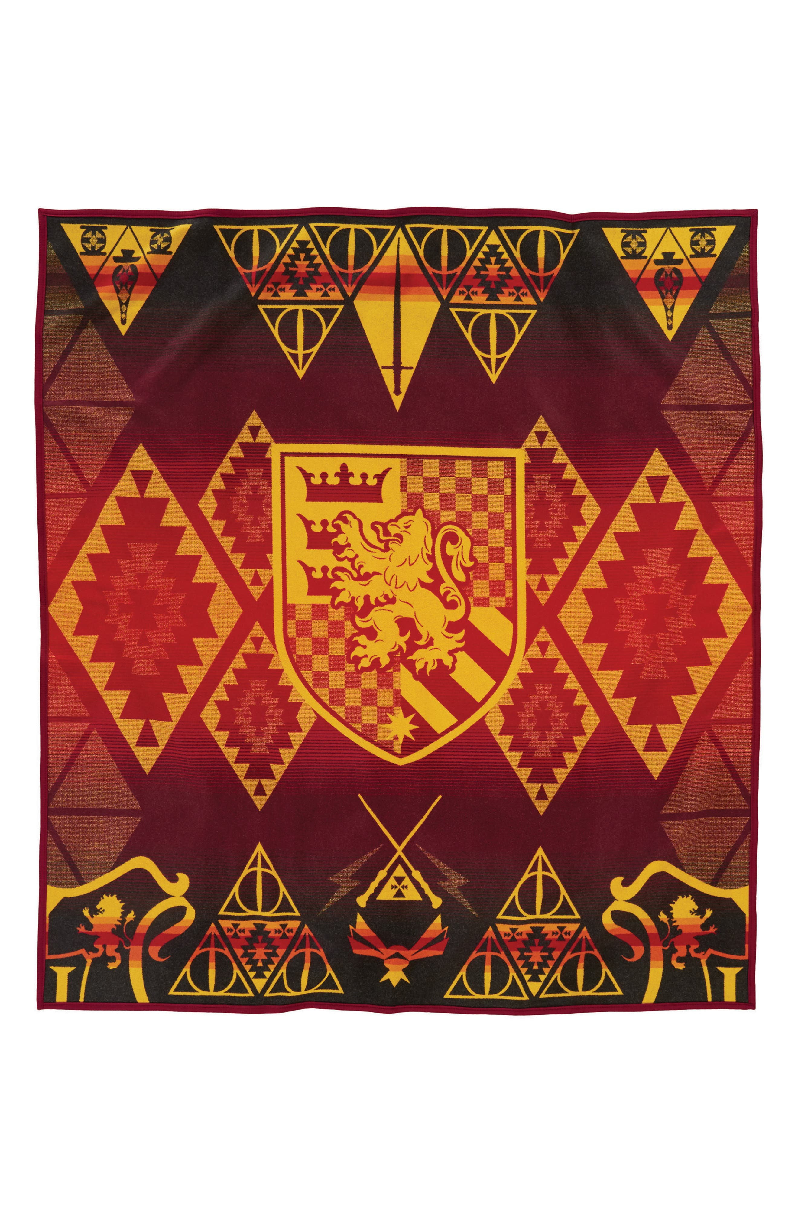 Harry Potter - Gryffindor Blanket,                         Main,                         color, RED