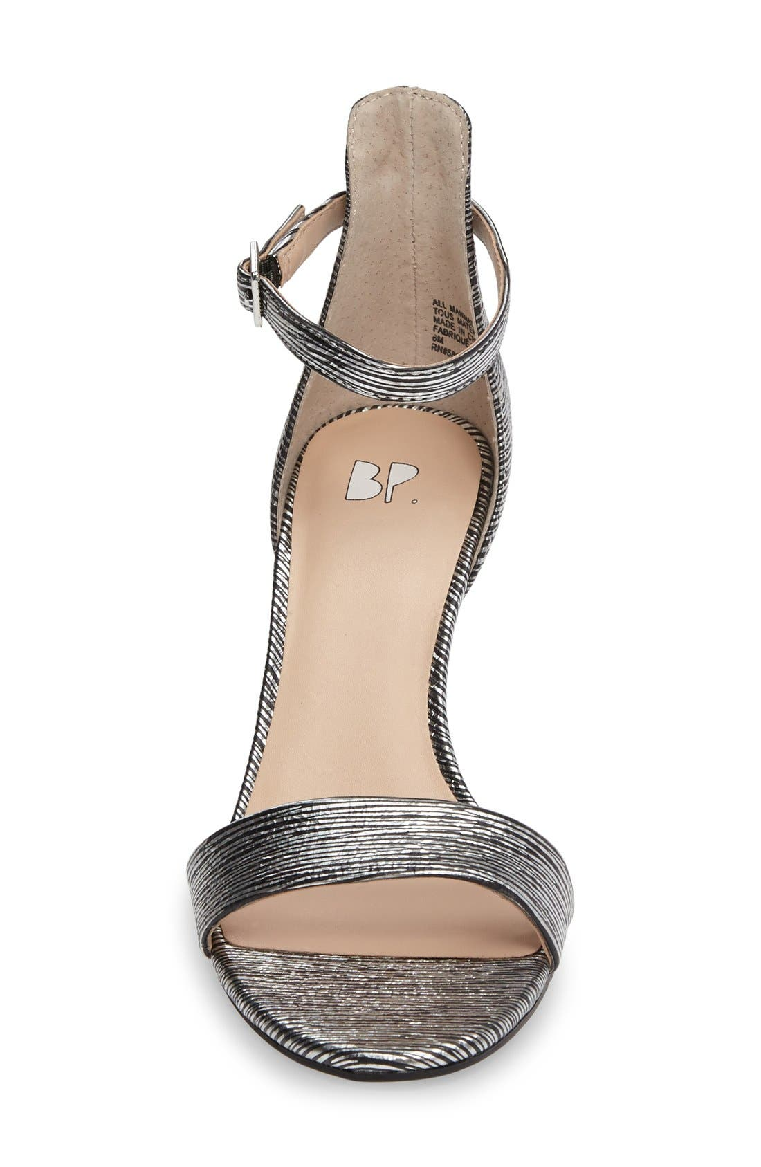 'Luminate' Open Toe Dress Sandal,                             Alternate thumbnail 71, color,