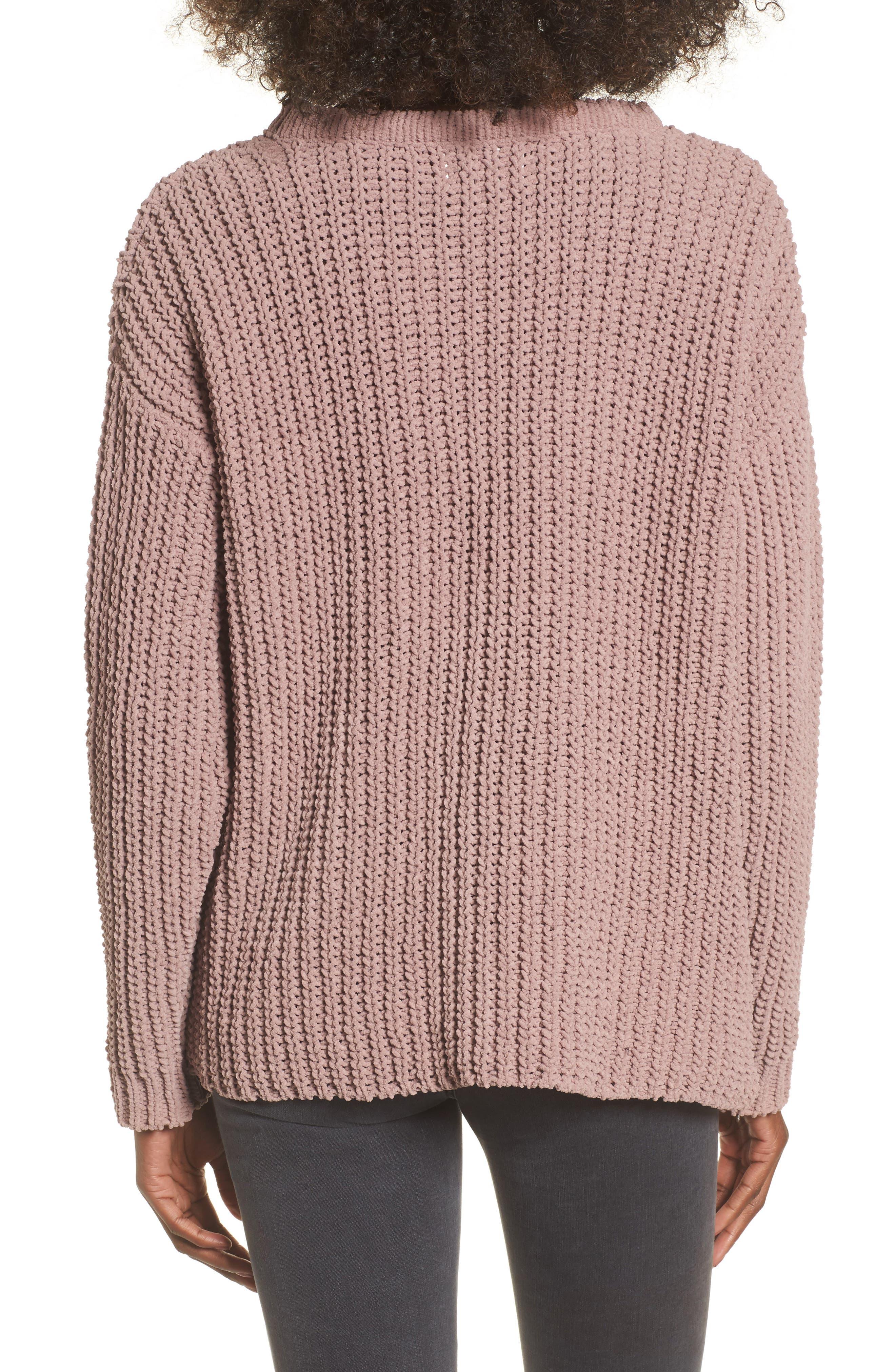 Mary Lous Choker Sweater,                             Alternate thumbnail 4, color,