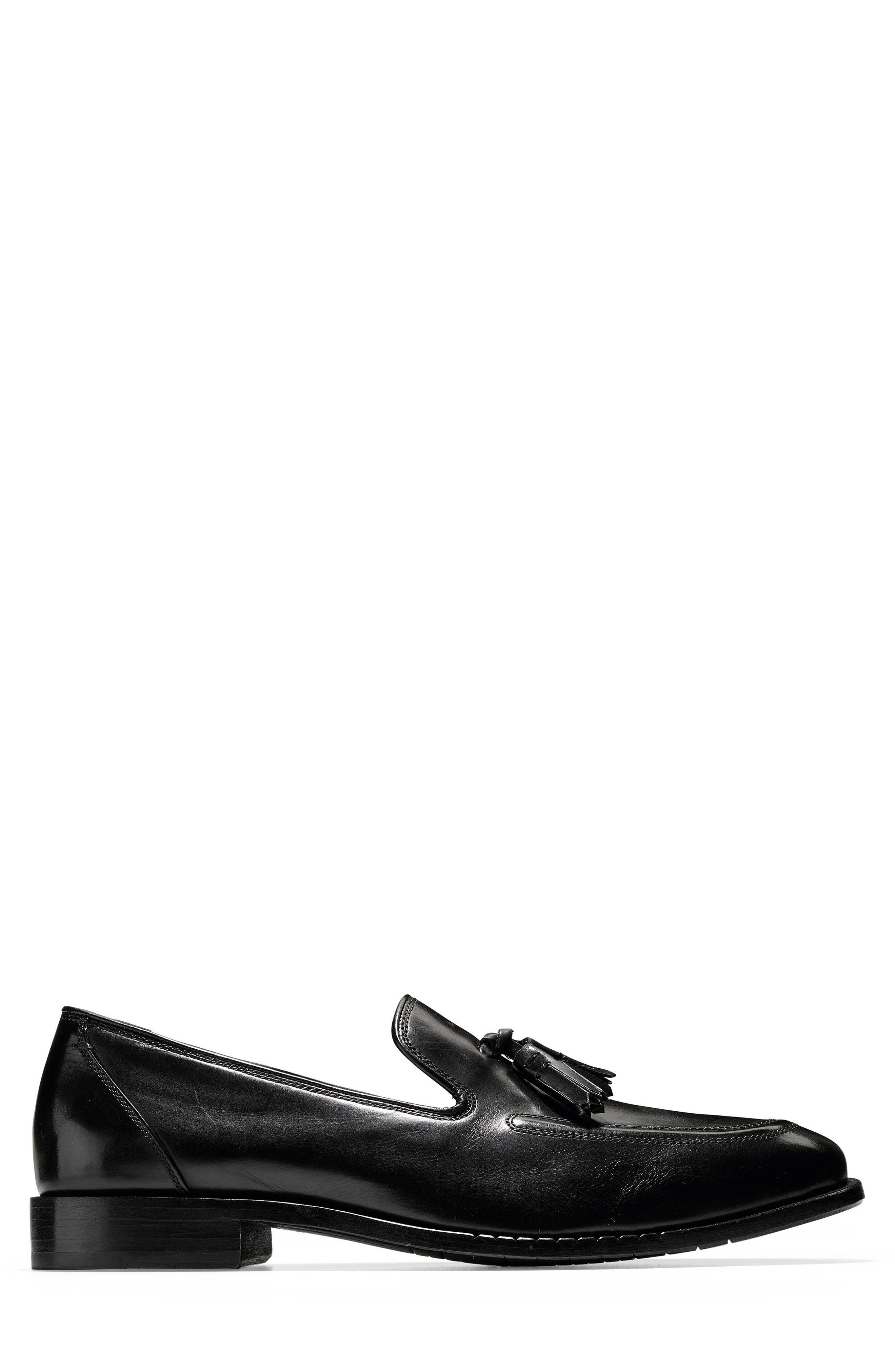 COLE HAAN,                             Washington Grand Tassel Loafer,                             Alternate thumbnail 3, color,                             001