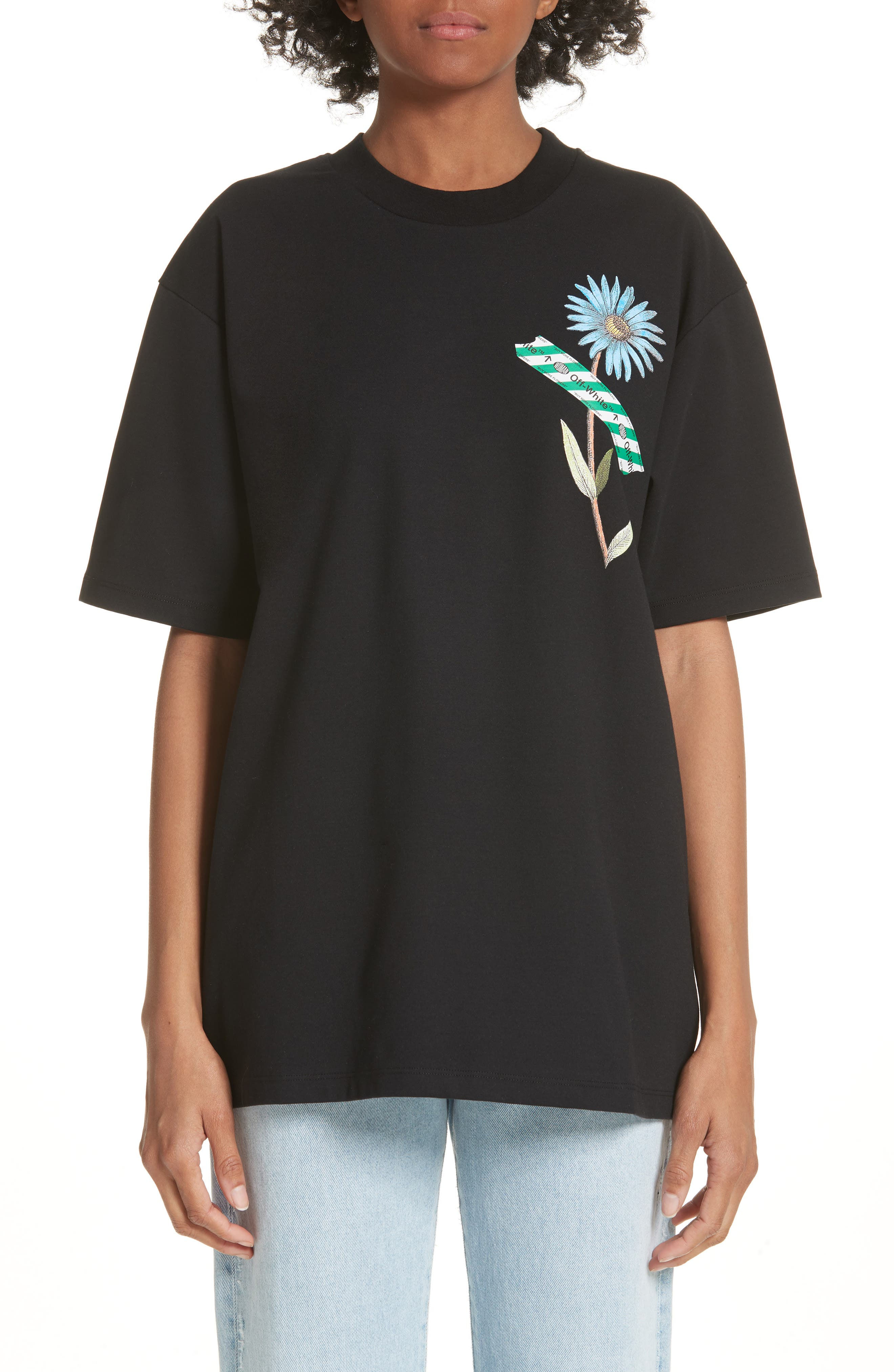 Flower Shop Tee,                             Main thumbnail 1, color,                             001