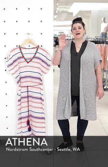 Stripe Caftan Dress, sales video thumbnail