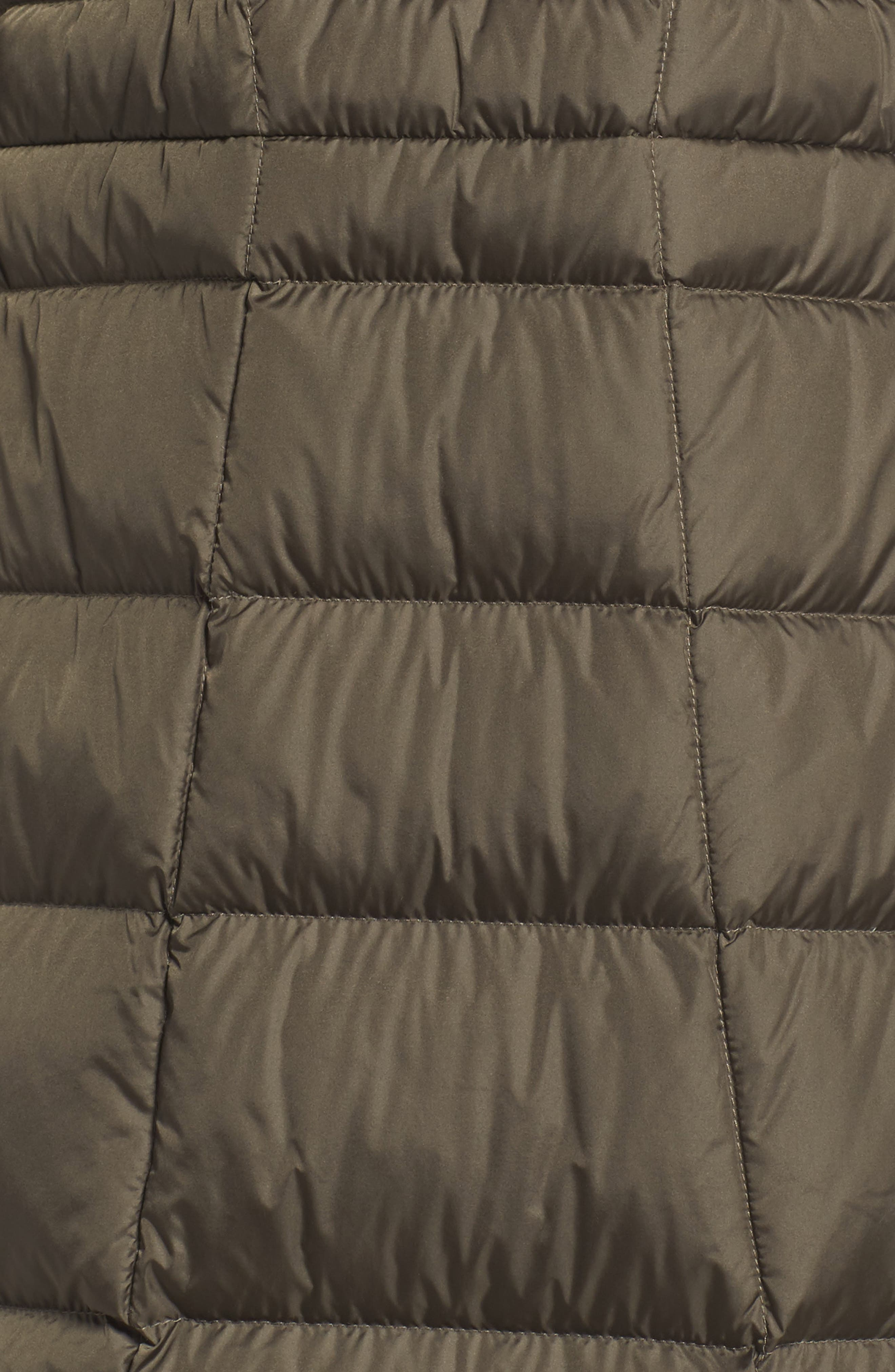 Metropolis II Hooded Water Resistant Down Parka,                             Alternate thumbnail 7, color,                             NEW TAUPE