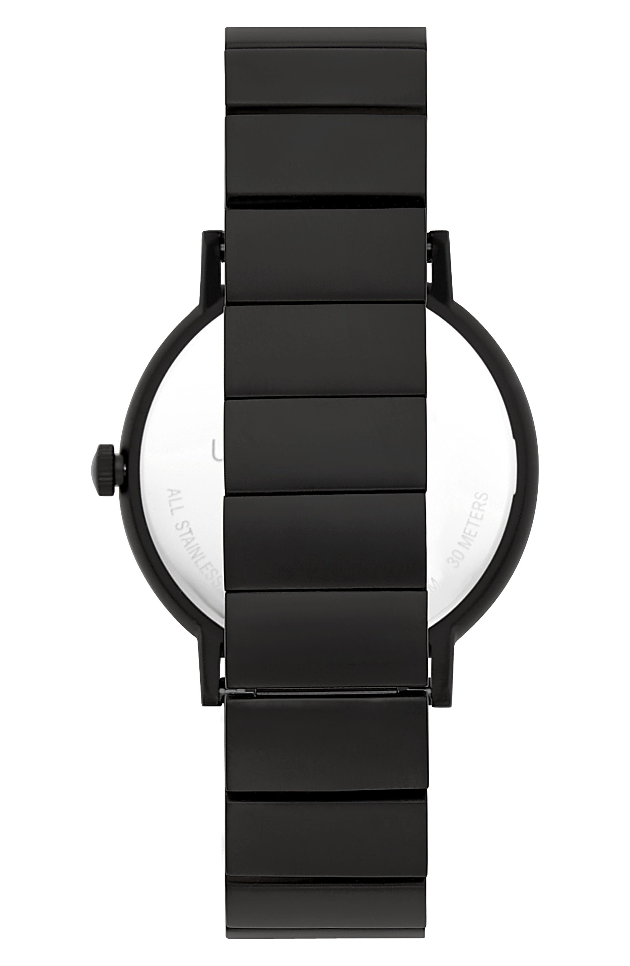 Norrebro Bracelet Watch, 40mm,                             Alternate thumbnail 2, color,                             BLACK