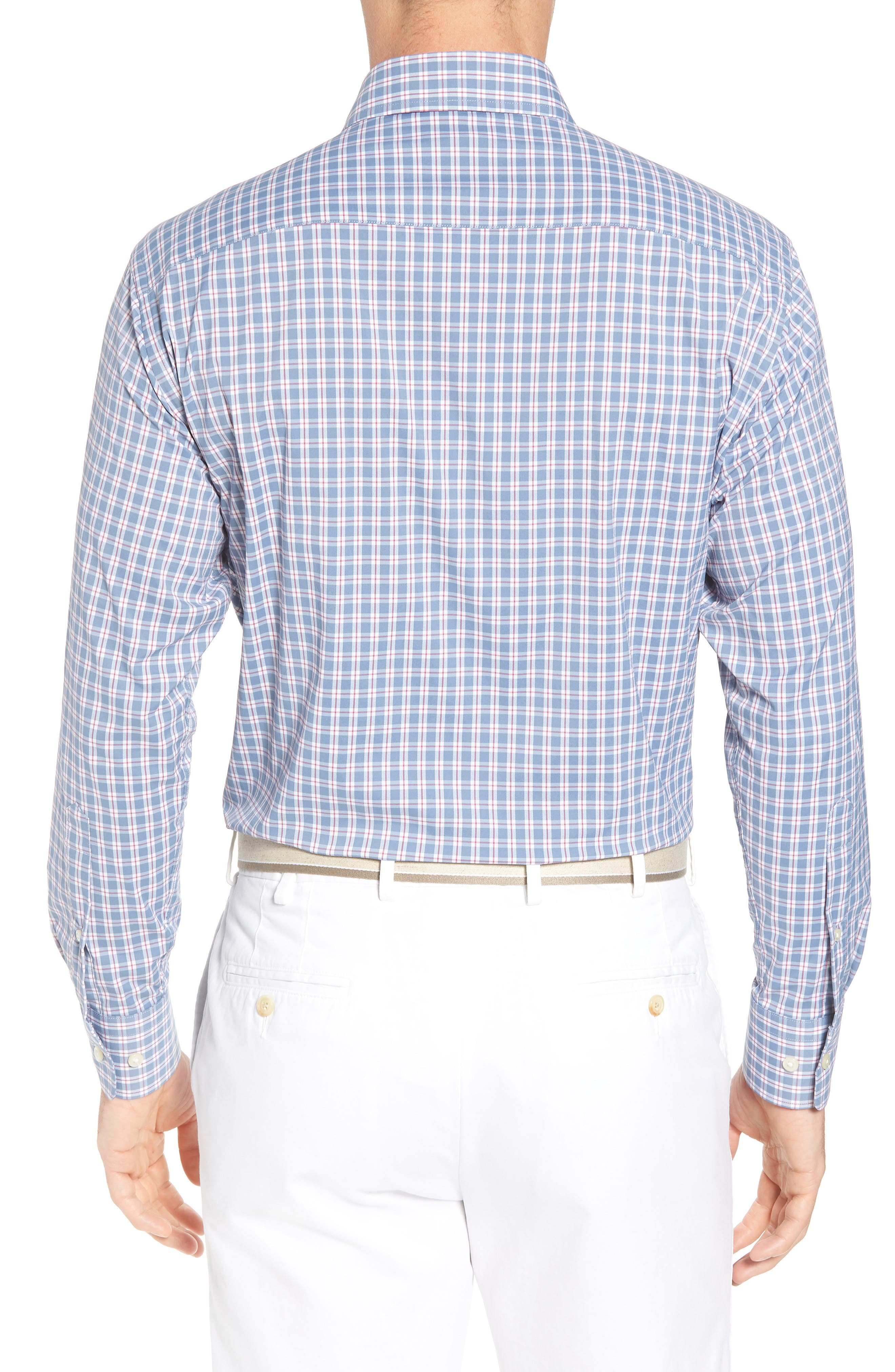 Ballard Regular Fit Check Performance Sport Shirt,                             Alternate thumbnail 2, color,                             400