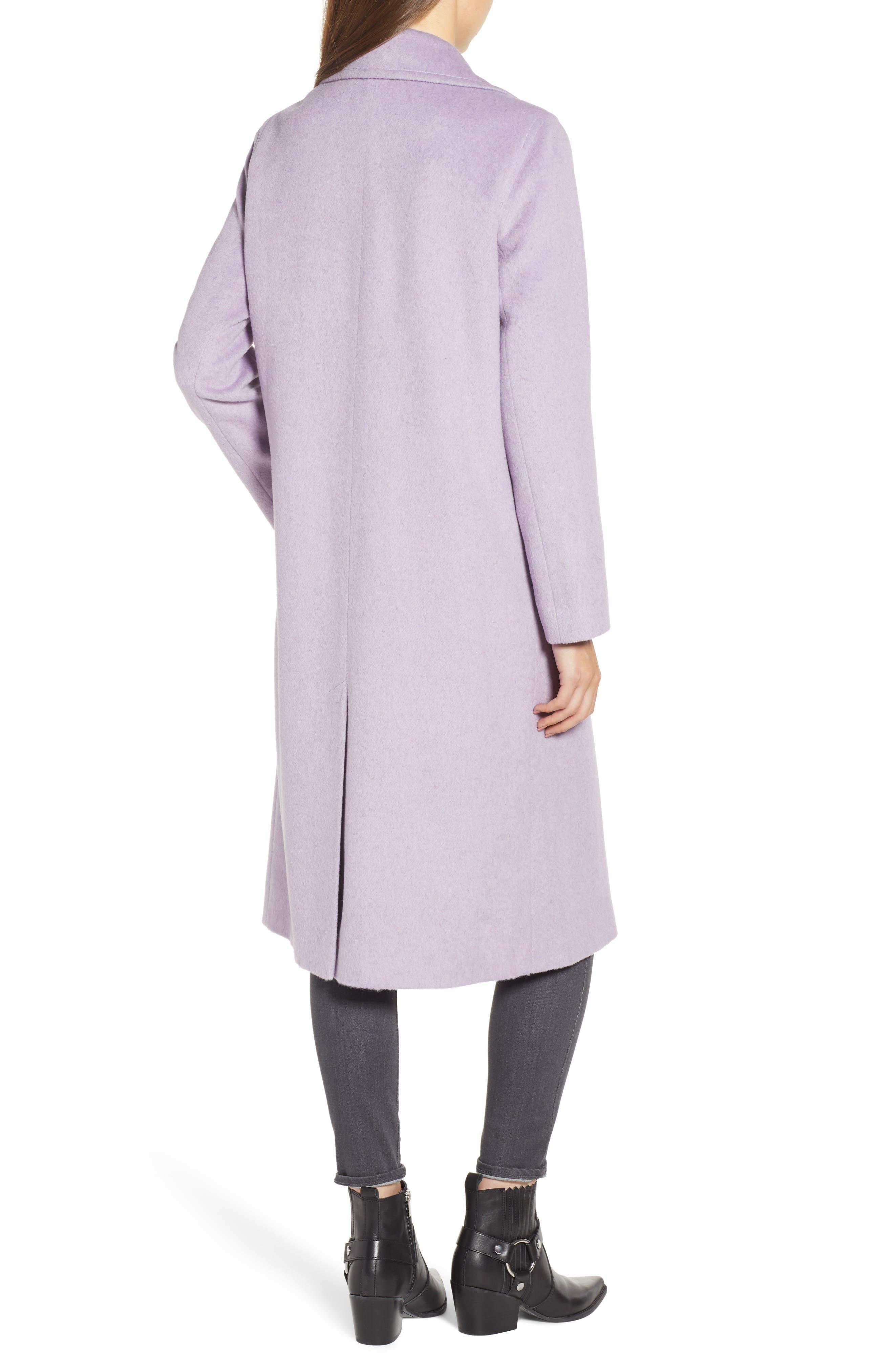 Ruth Knee Length Coat,                             Alternate thumbnail 2, color,                             500