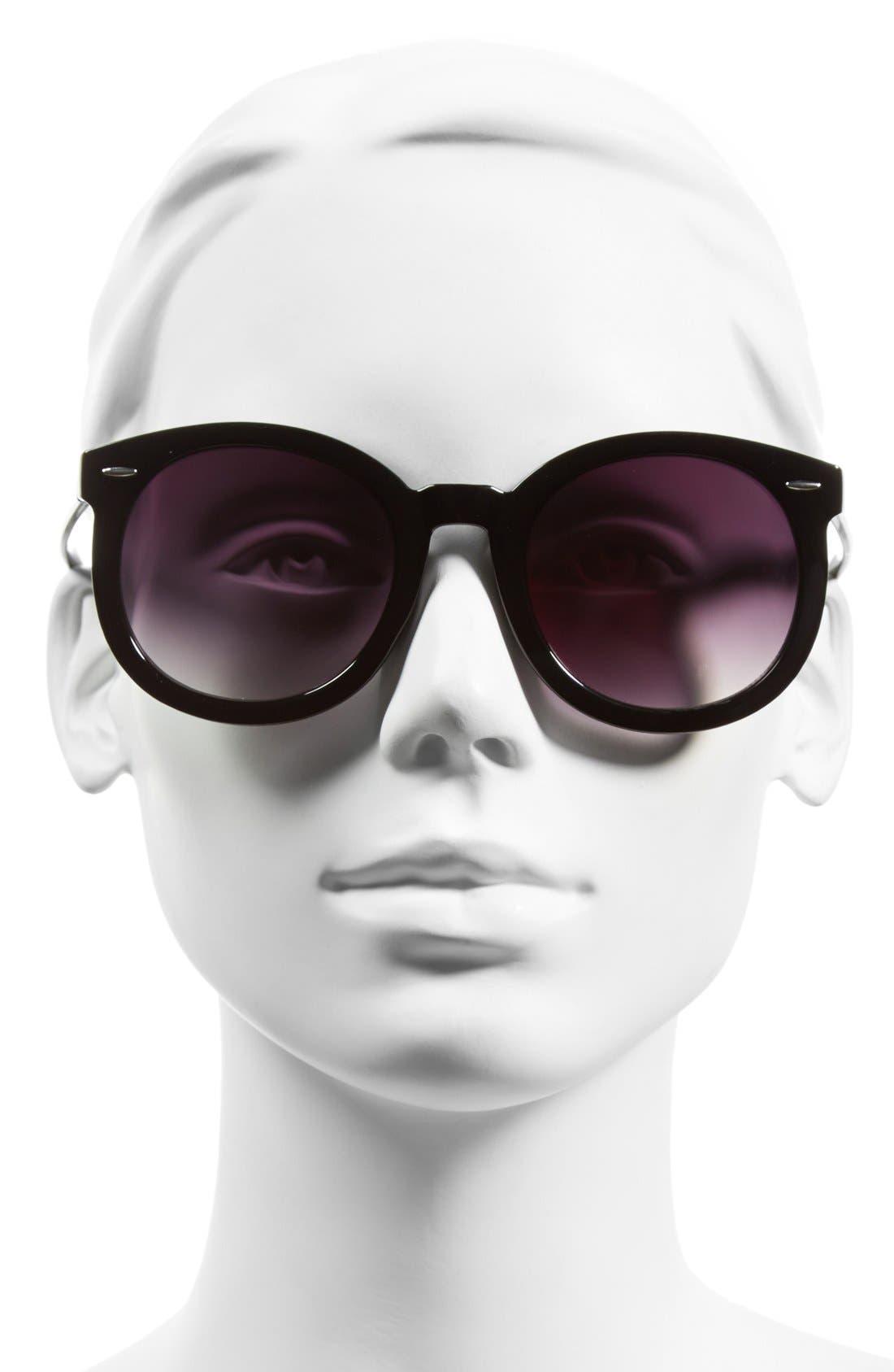 BP.,                             'Abbey Road' 52mm Round Sunglasses,                             Alternate thumbnail 2, color,                             001