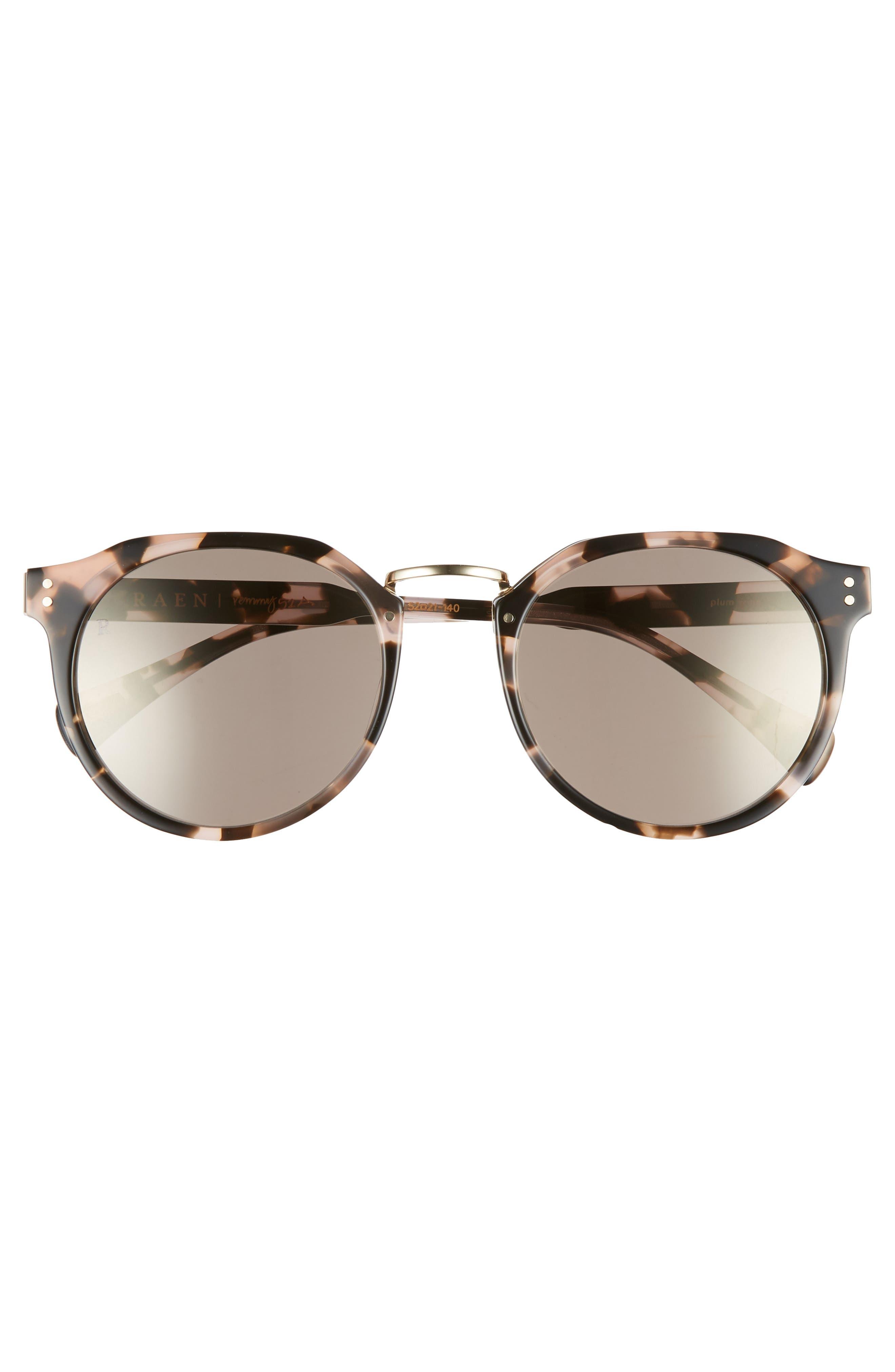 Remmy 52mm Sunglasses,                             Alternate thumbnail 2, color,                             PLUM WINE