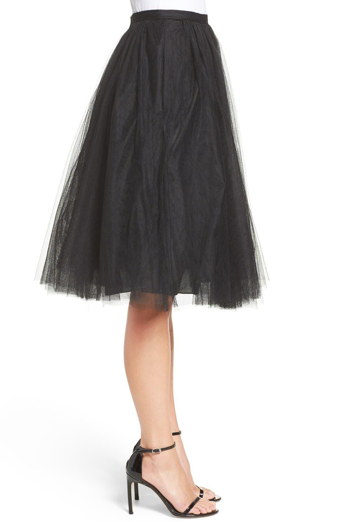 Lucy Tulle Skirt,                             Alternate thumbnail 8, color,