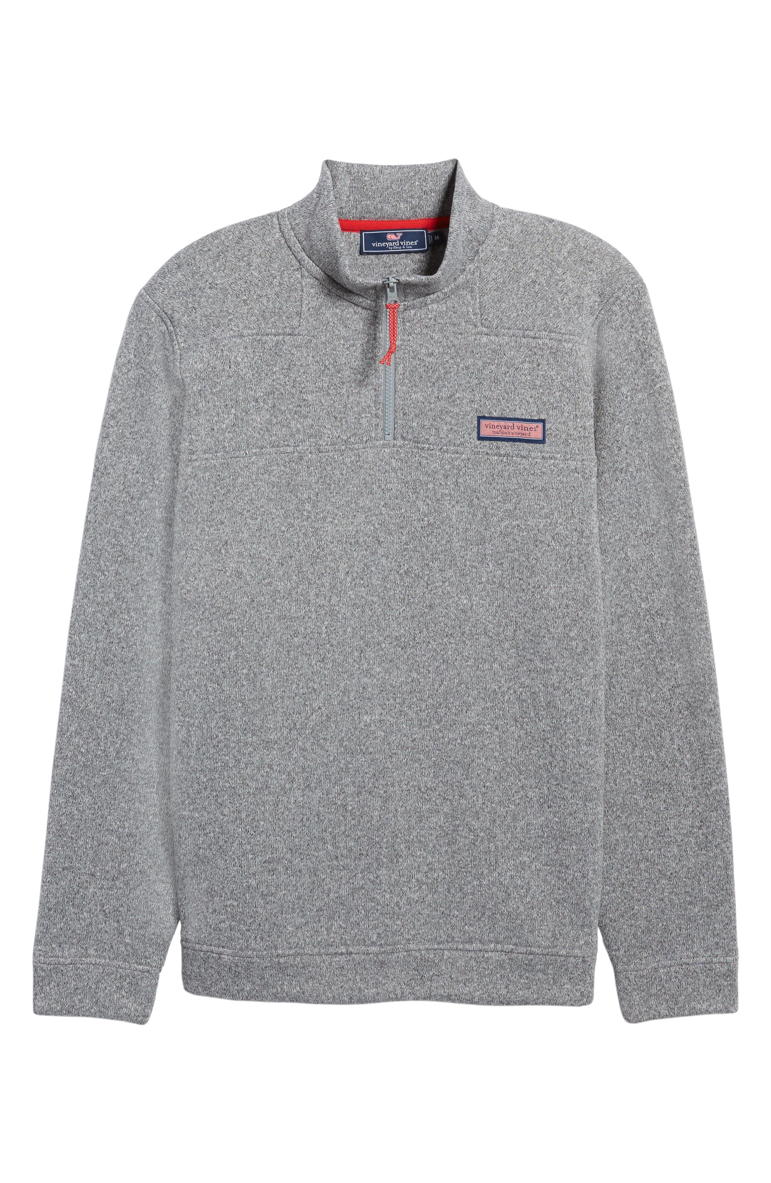 Shep Sweater Fleece Quarter Zip Pullover,                             Alternate thumbnail 11, color,