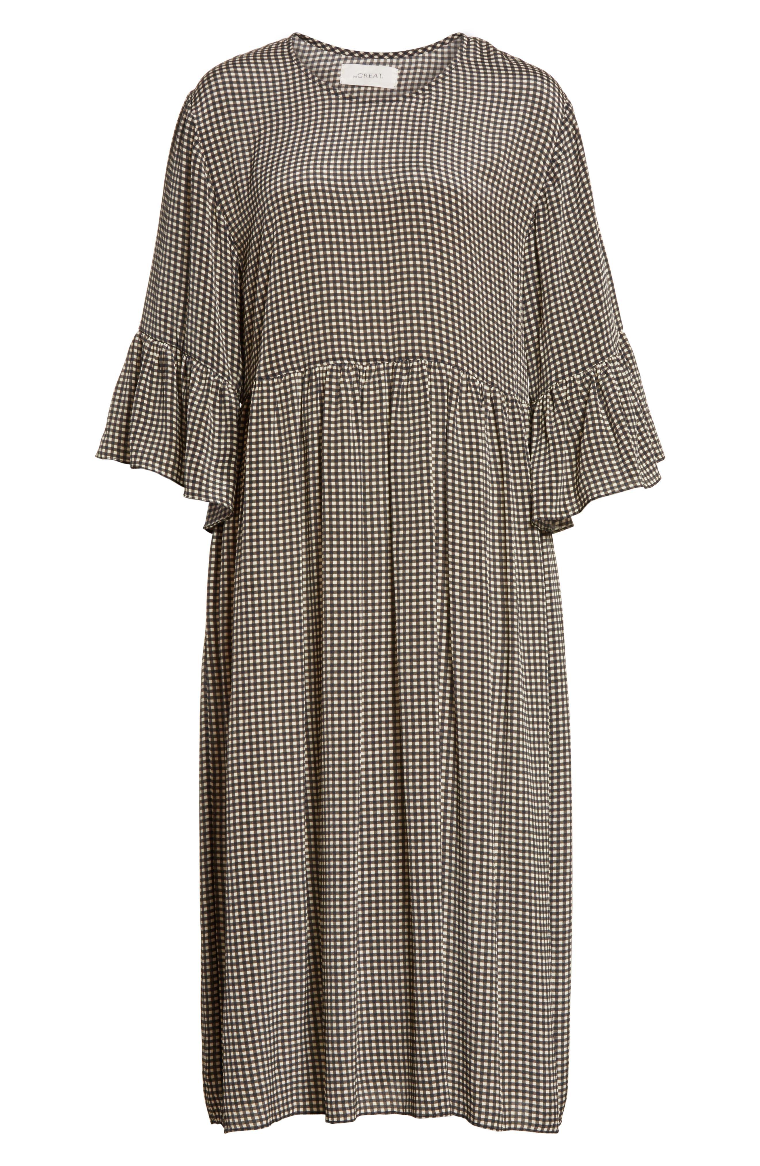 The Sweetie Silk Midi Dress,                             Alternate thumbnail 6, color,                             020