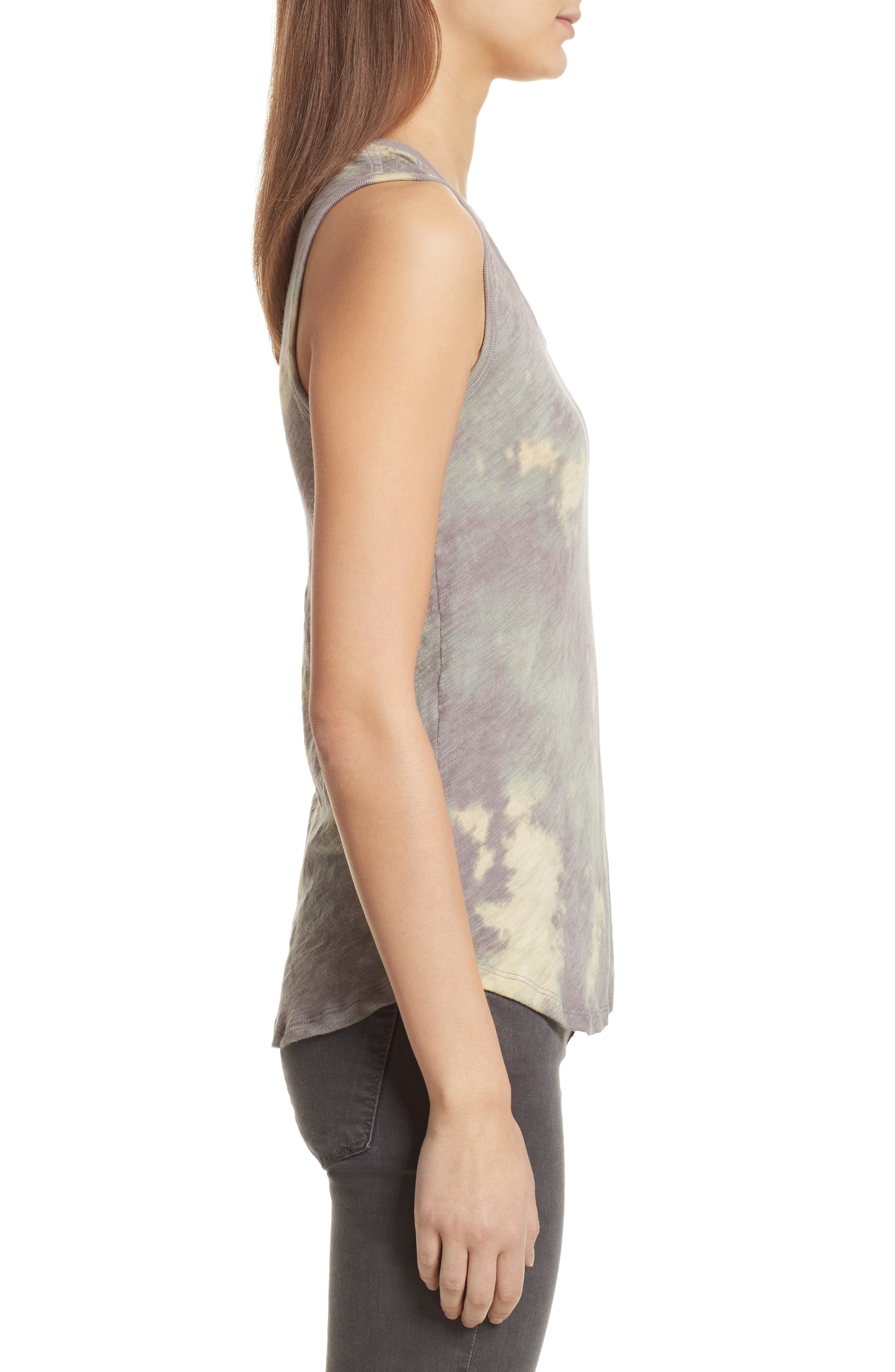 Sweetheart Tie Dye Tank,                             Alternate thumbnail 3, color,
