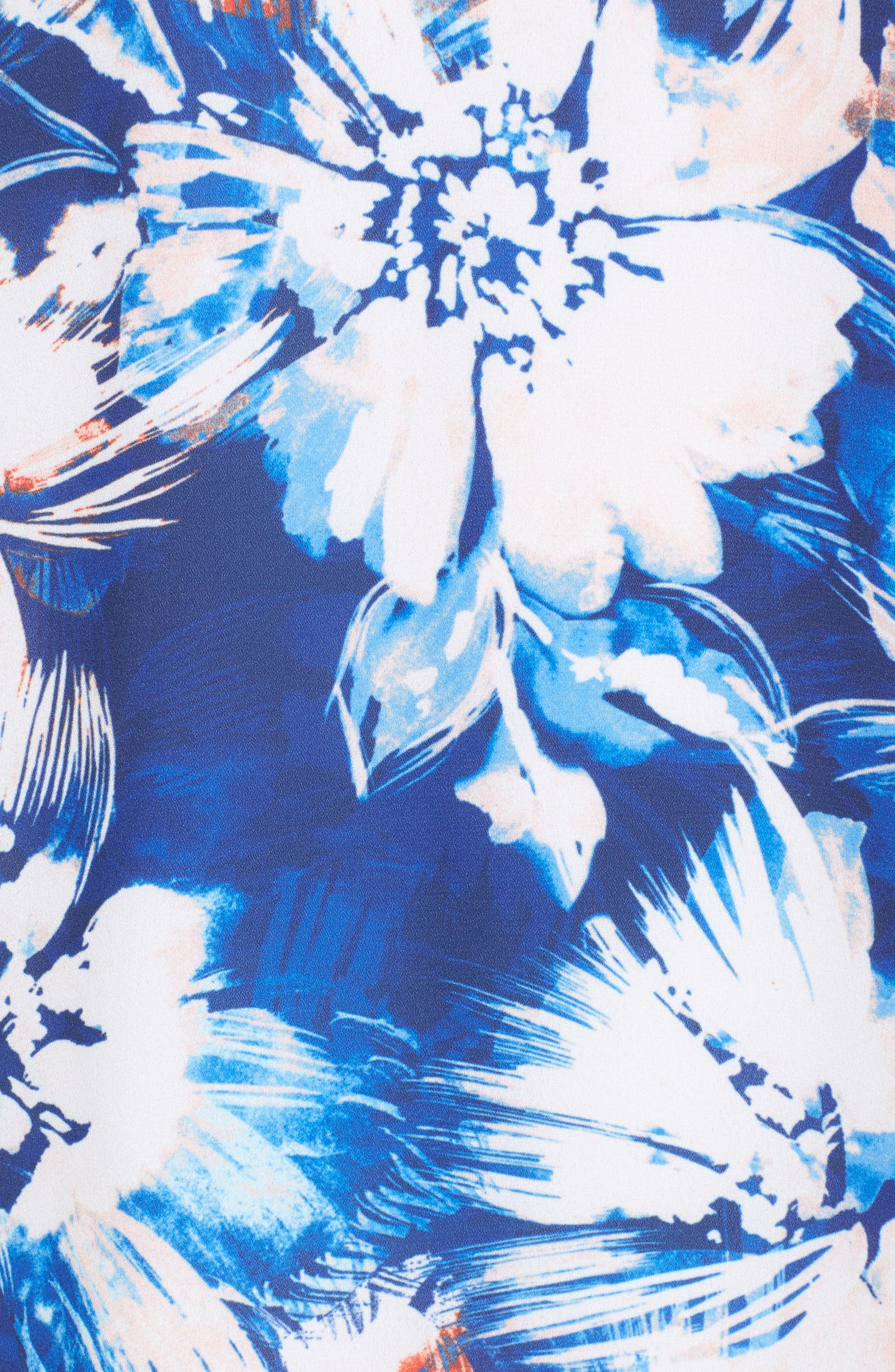 Ruffle Shift Dress,                             Alternate thumbnail 5, color,                             432