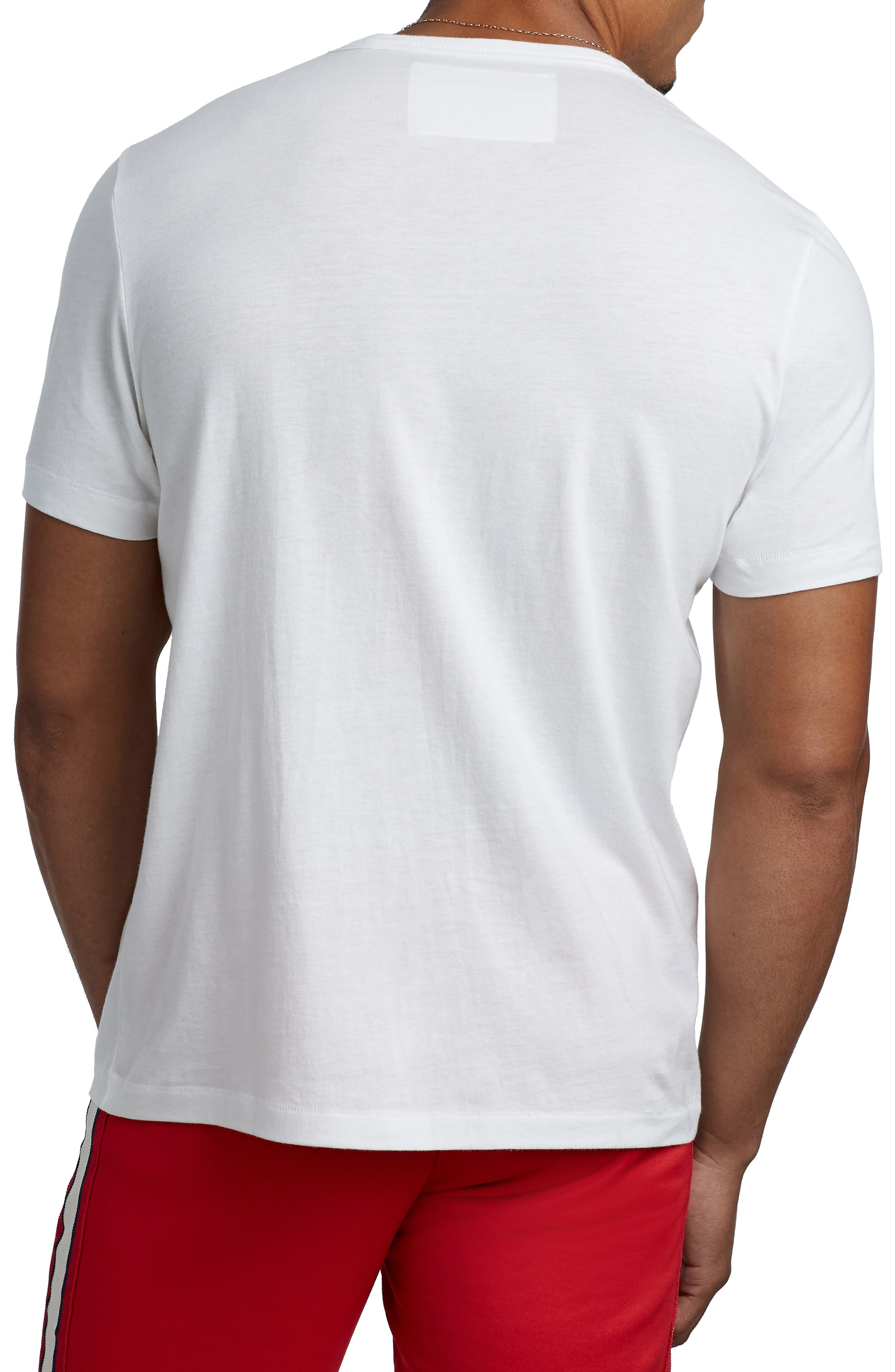 Embroidered Logo T-Shirt,                             Alternate thumbnail 2, color,                             100