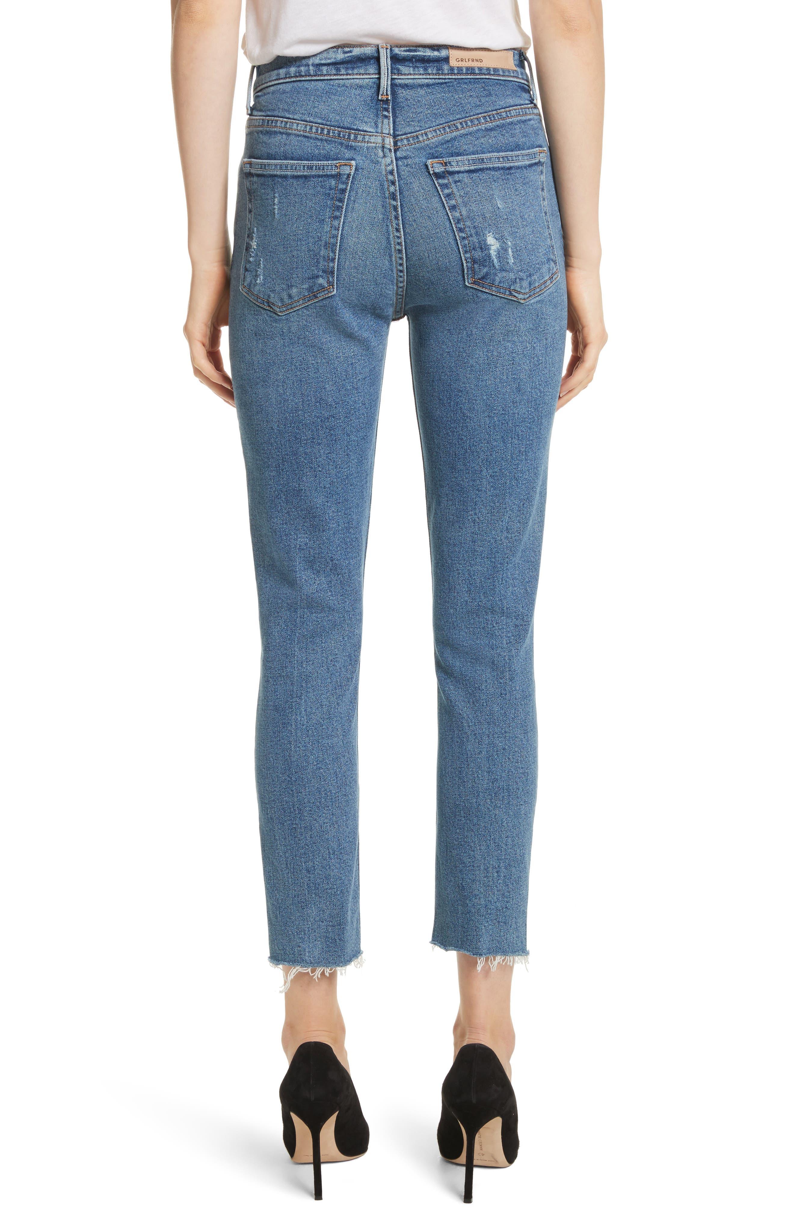 Karolina High Waist Skinny Jeans,                             Alternate thumbnail 2, color,                             SIXPENCE