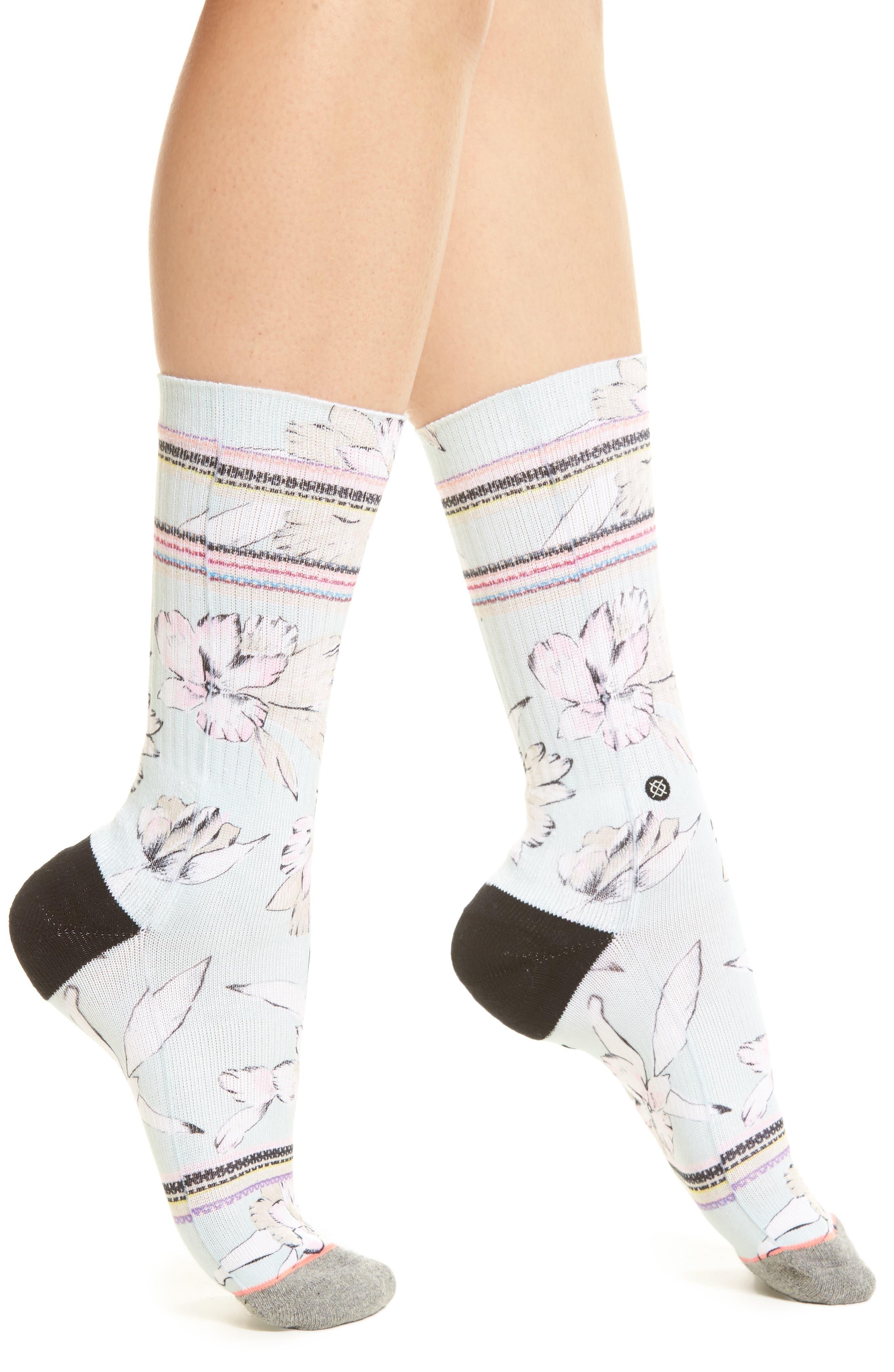 Sandy Lane Crew Socks,                         Main,                         color, 400