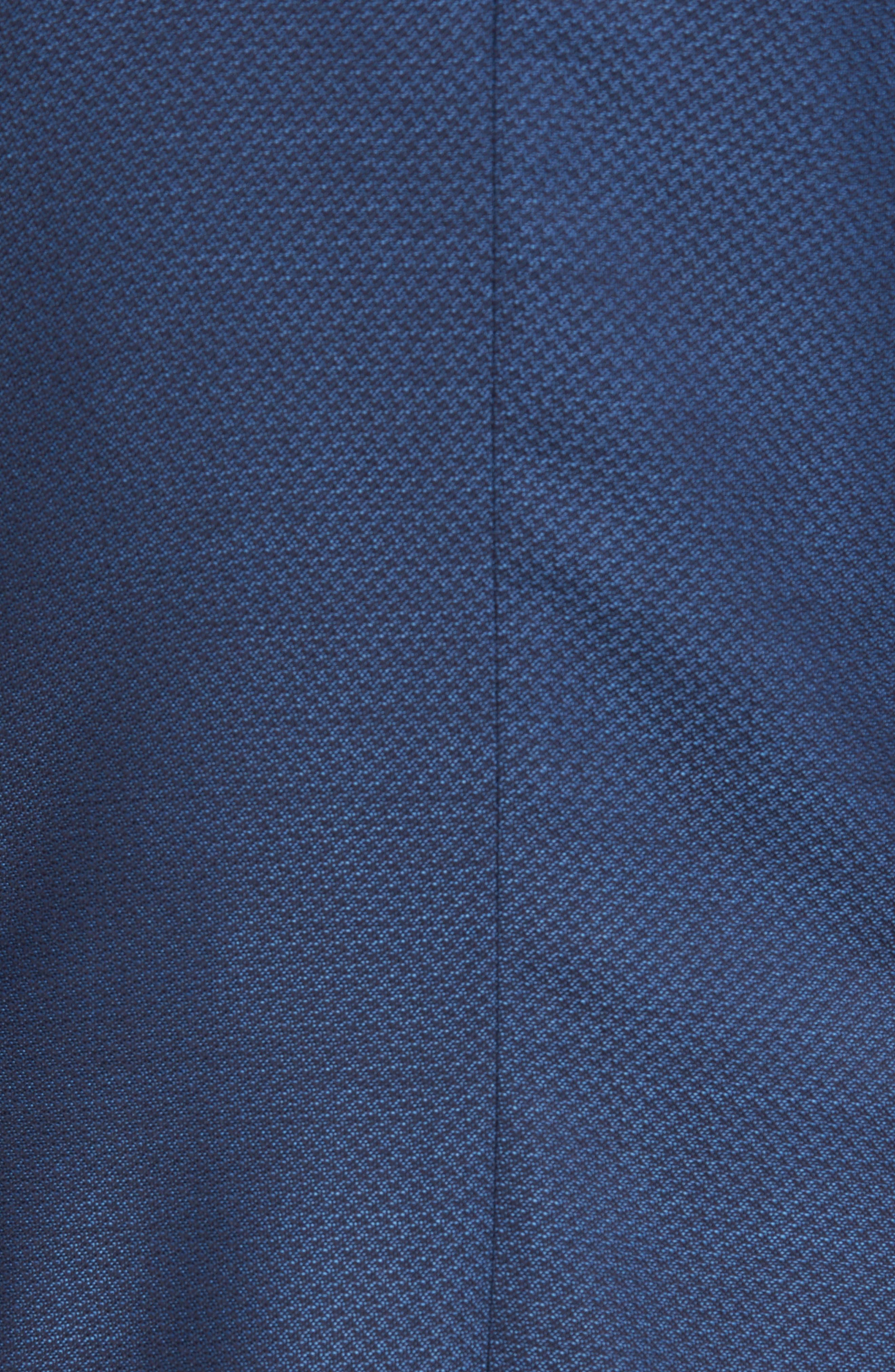 Raye Extra Trim Fit Wool Blazer,                             Alternate thumbnail 6, color,                             BLUE