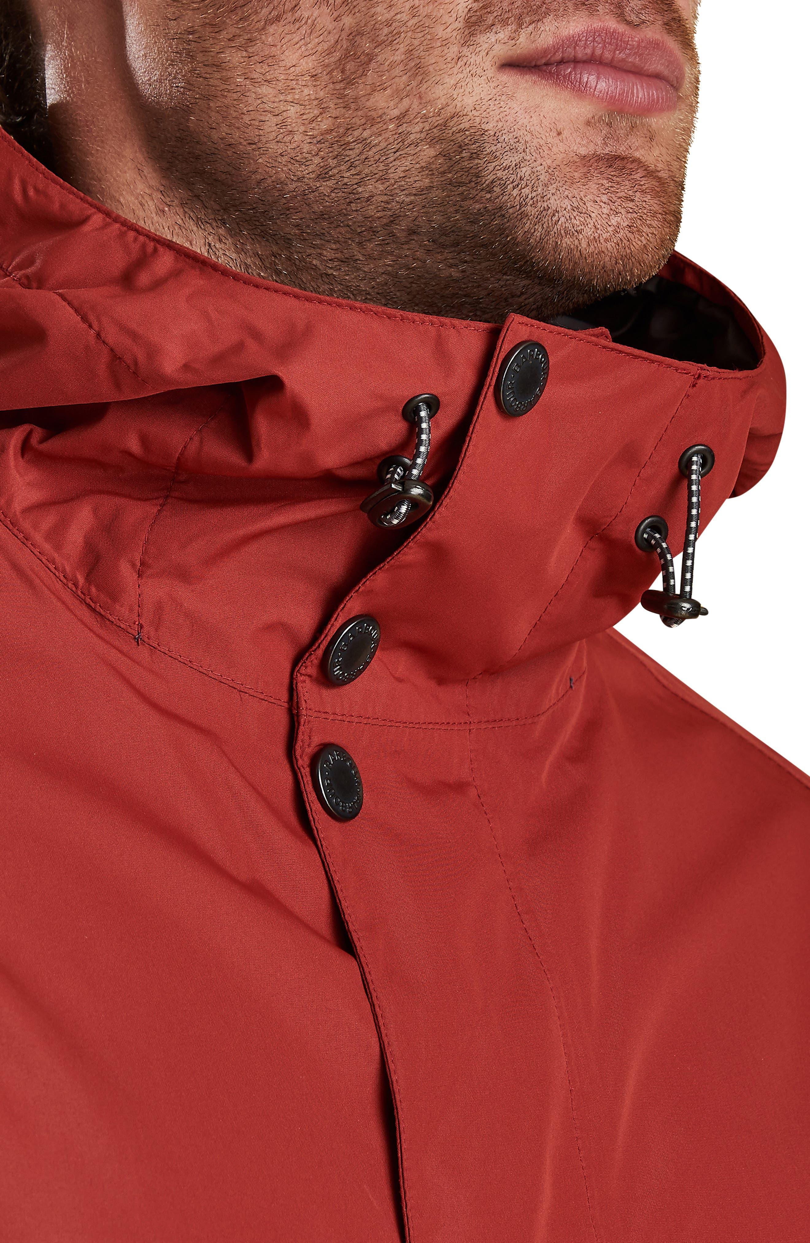 Barbour Gunwale Waterproof Jacket, Brown