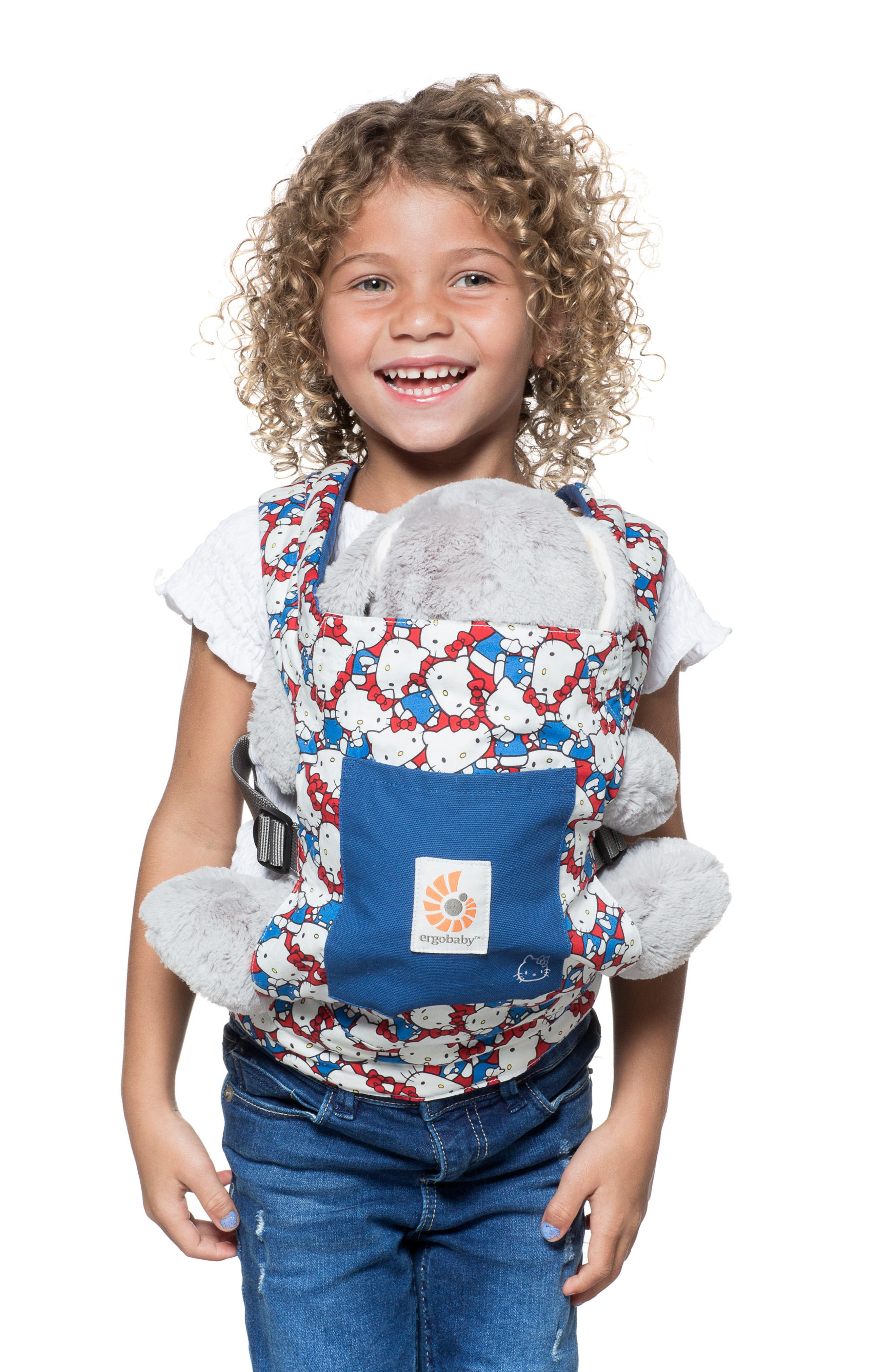 x Hello Kitty<sup>®</sup> Doll Carrier,                             Alternate thumbnail 4, color,                             DOODLES